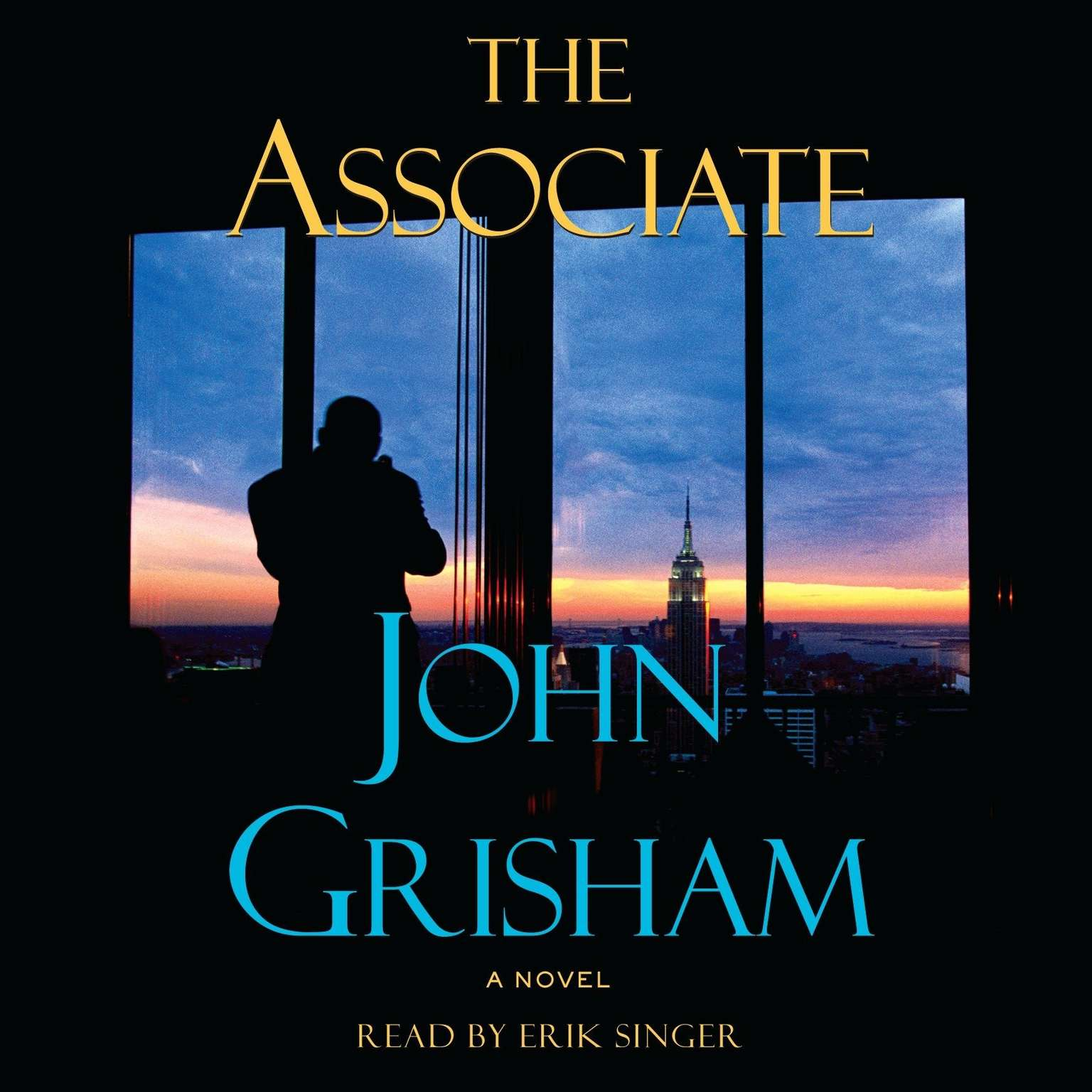 Printable The Associate: A Novel Audiobook Cover Art