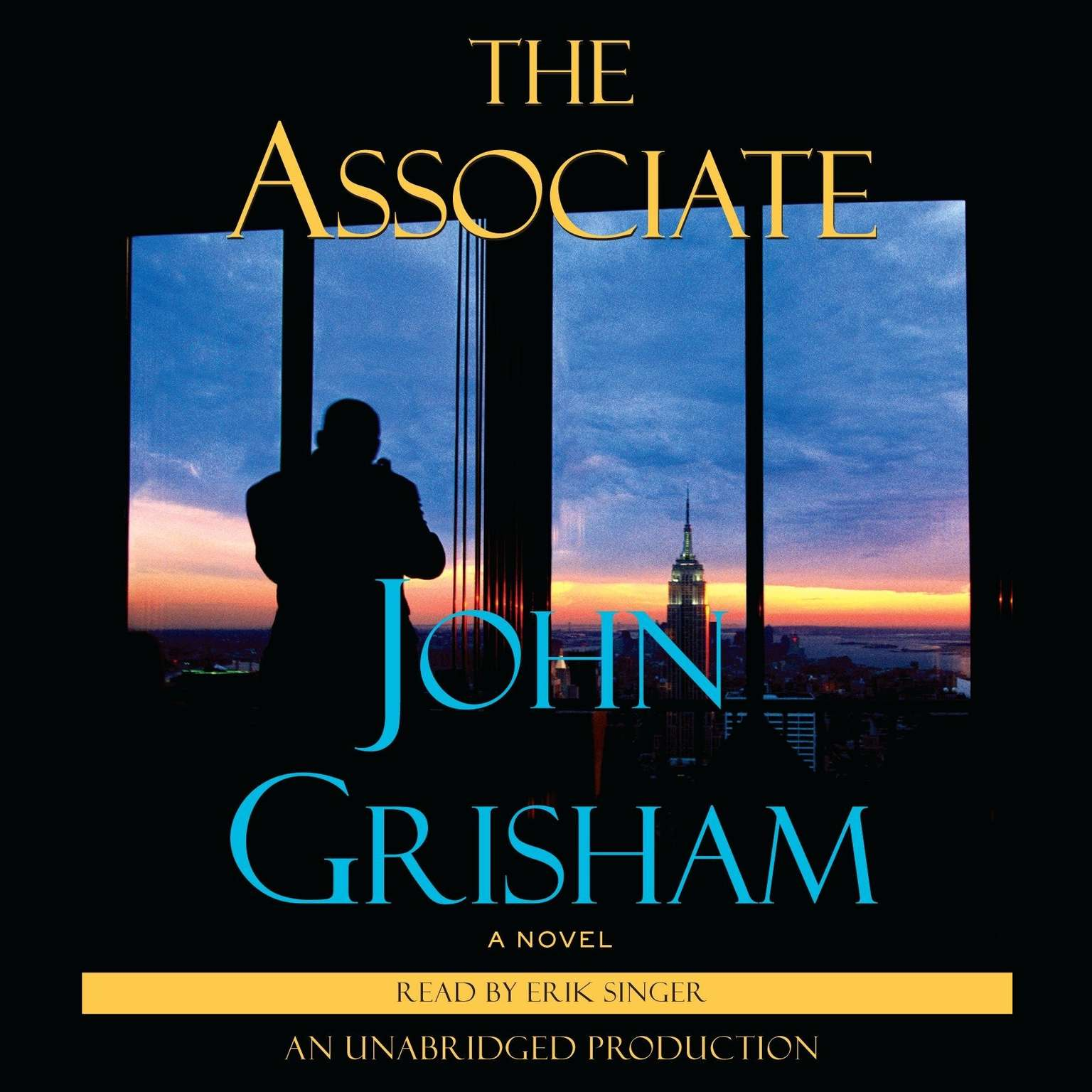 Printable The Associate: A Novel Audiobook Cover Art