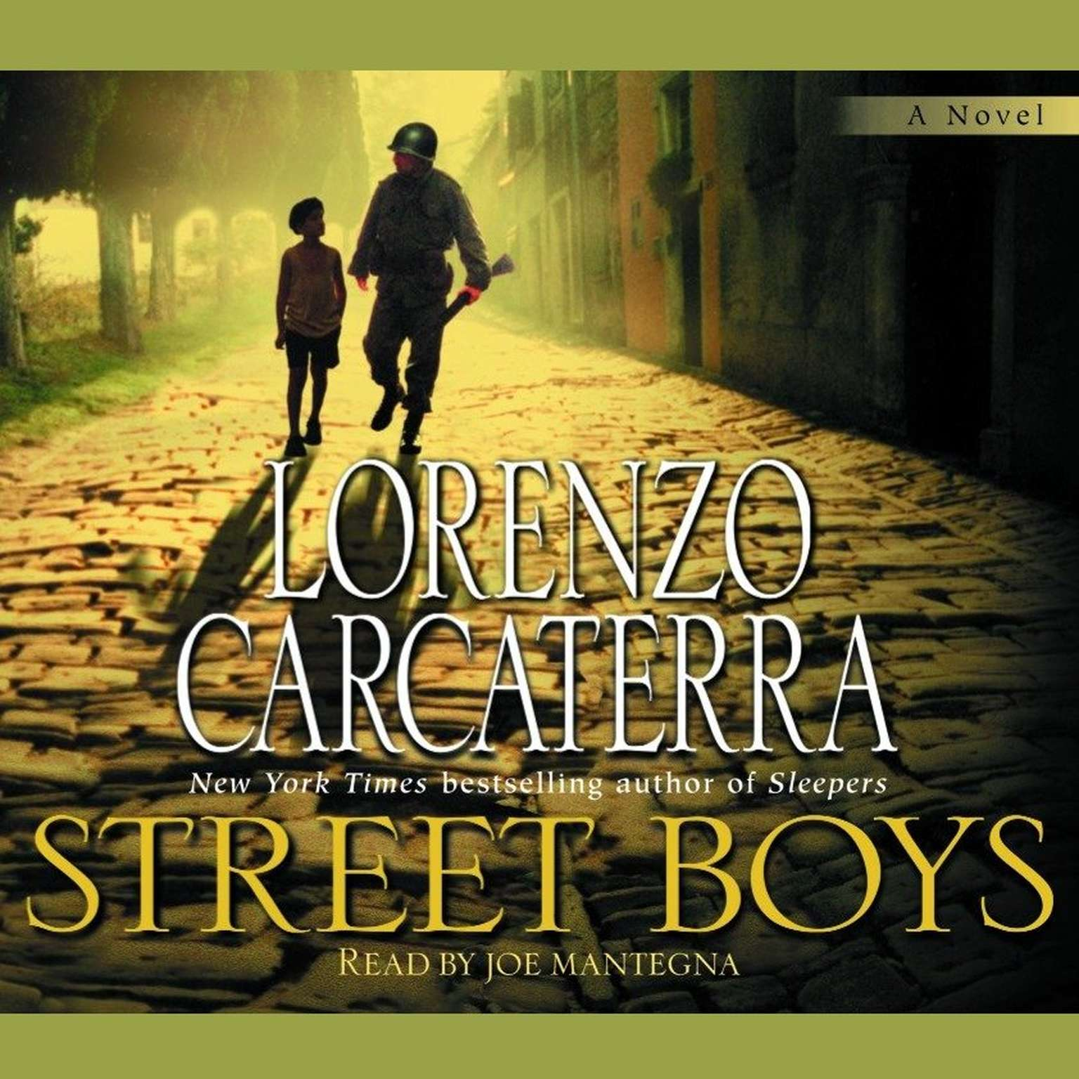 Printable Street Boys Audiobook Cover Art
