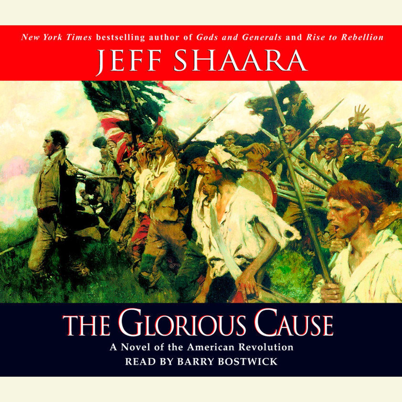 Printable The Glorious Cause Audiobook Cover Art