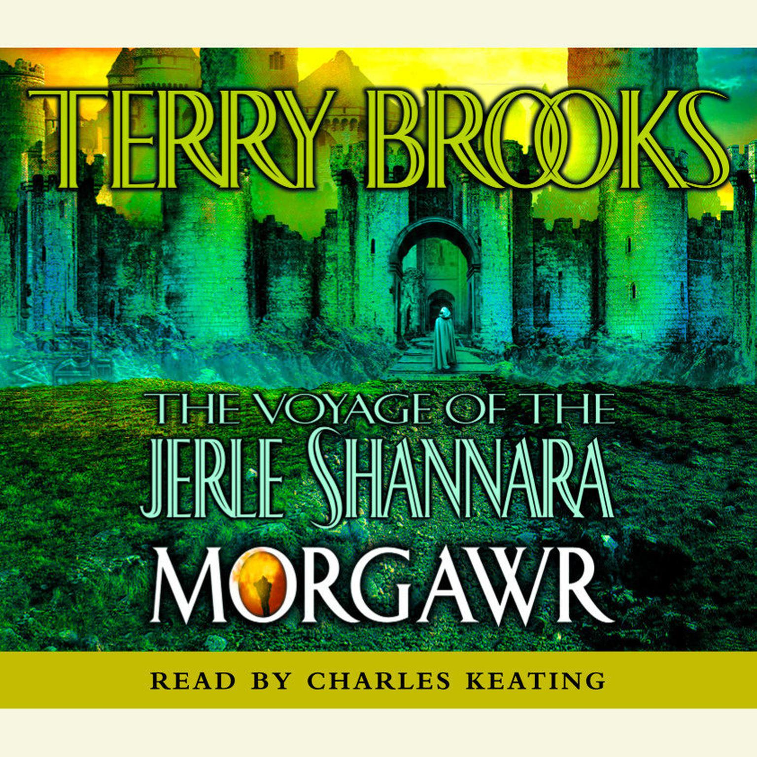 Printable The Voyage of the Jerle Shannara: Morgawr Audiobook Cover Art