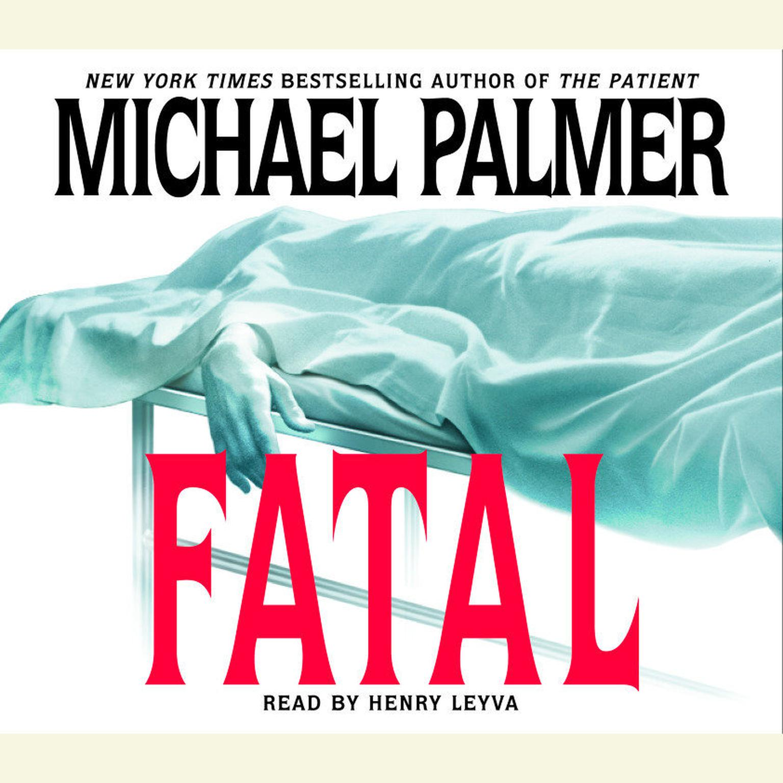 Printable Fatal Audiobook Cover Art