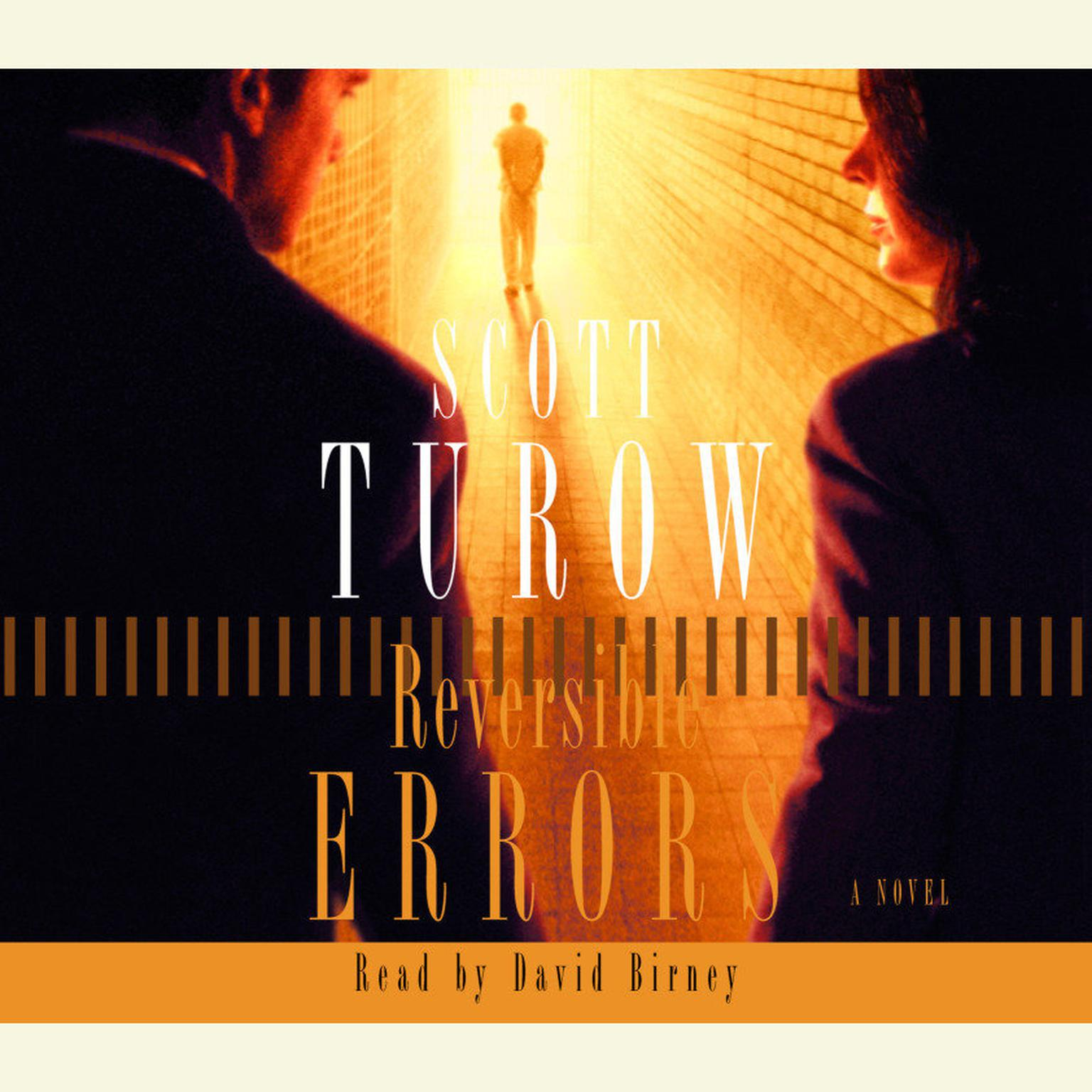 Printable Reversible Errors Audiobook Cover Art