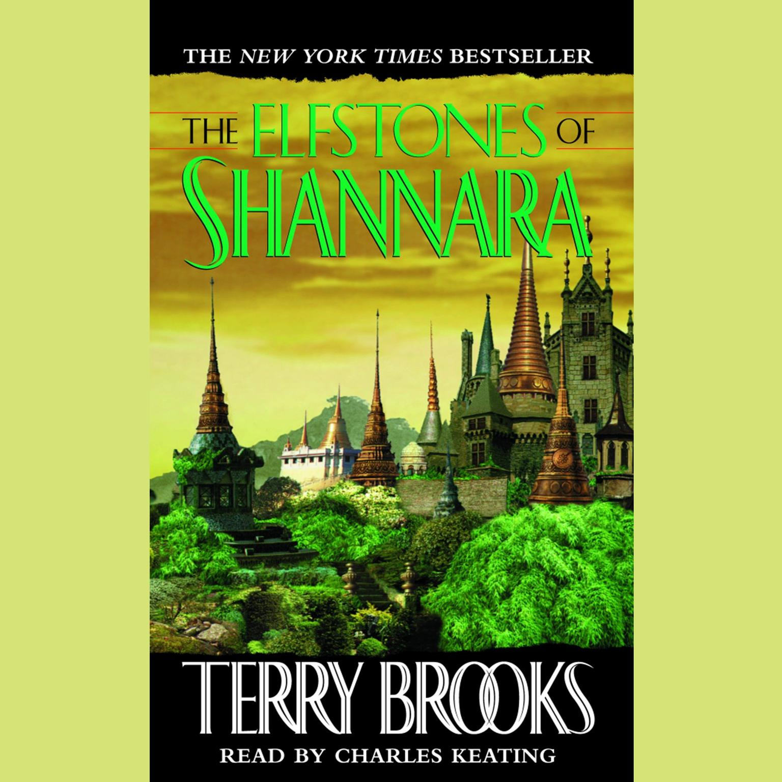 Printable The Elfstones of Shannara Audiobook Cover Art