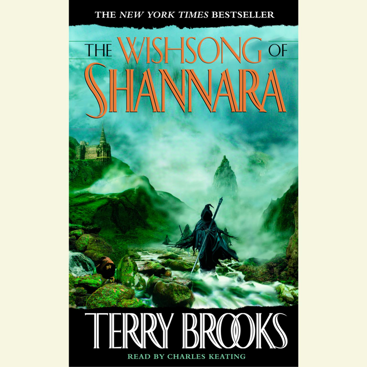 Printable The Wishsong of Shannara Audiobook Cover Art
