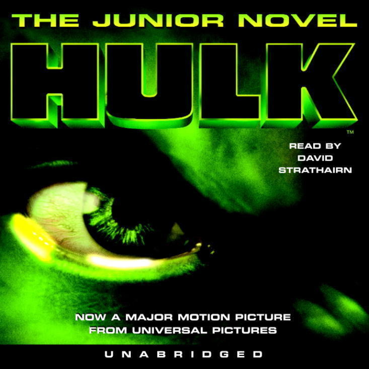 Printable Hulk Audiobook Cover Art