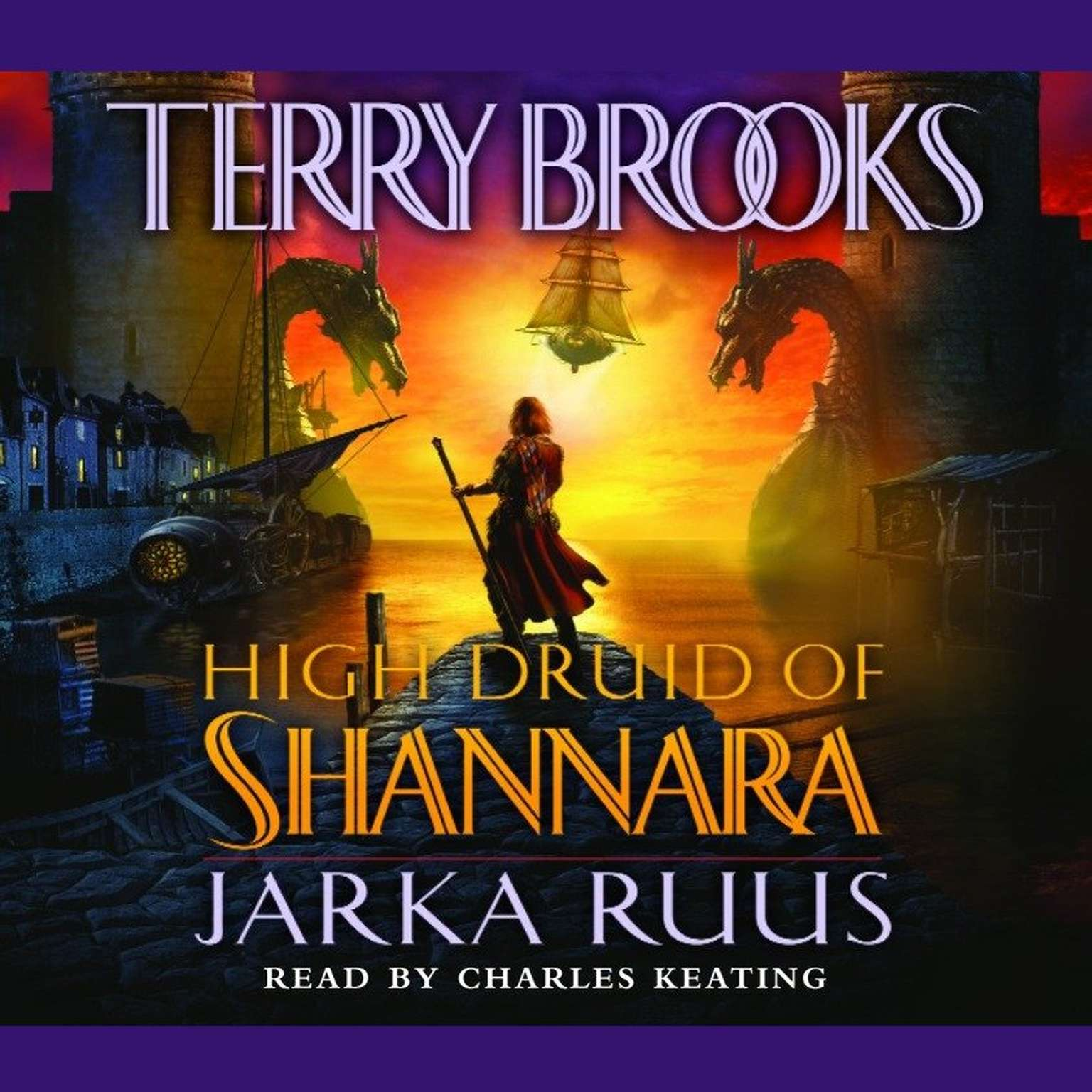 Printable High Druid of Shannara: Jarka Ruus Audiobook Cover Art