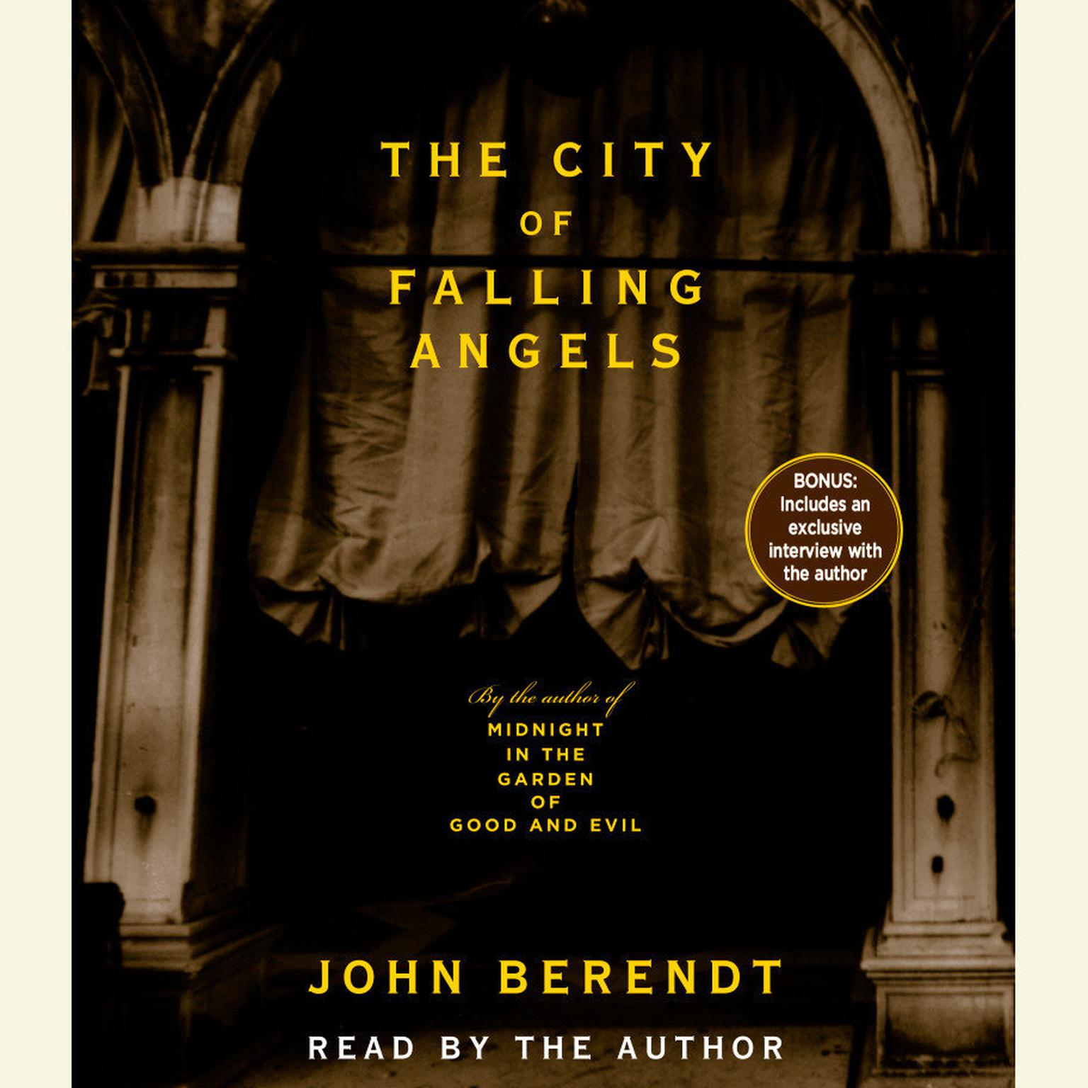 Printable The City of Falling Angels Audiobook Cover Art