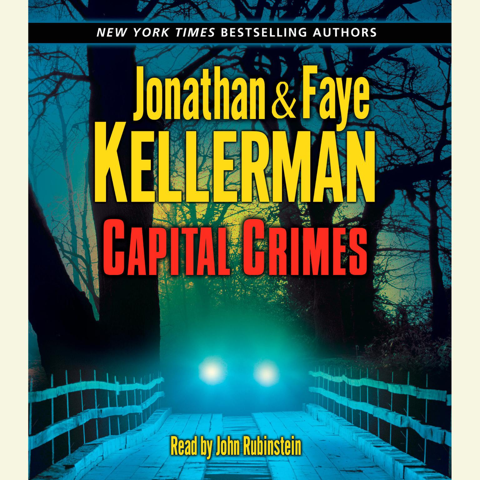 Printable Capital Crimes Audiobook Cover Art