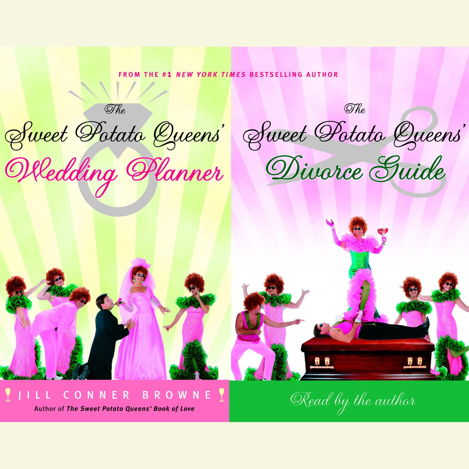 Printable The Sweet Potato Queens' Wedding Planner/Divorce Guide Audiobook Cover Art