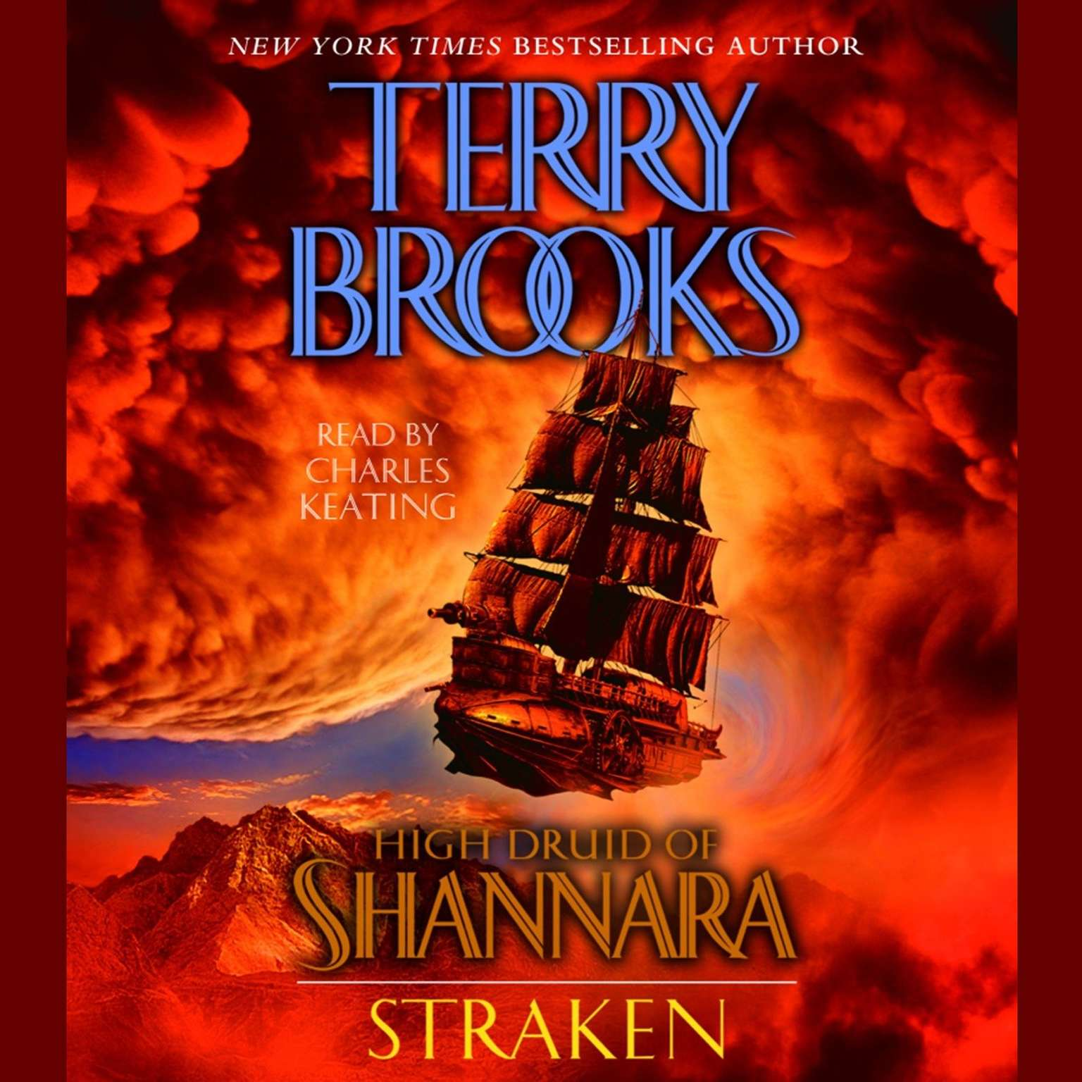 Printable High Druid of Shannara: Straken Audiobook Cover Art
