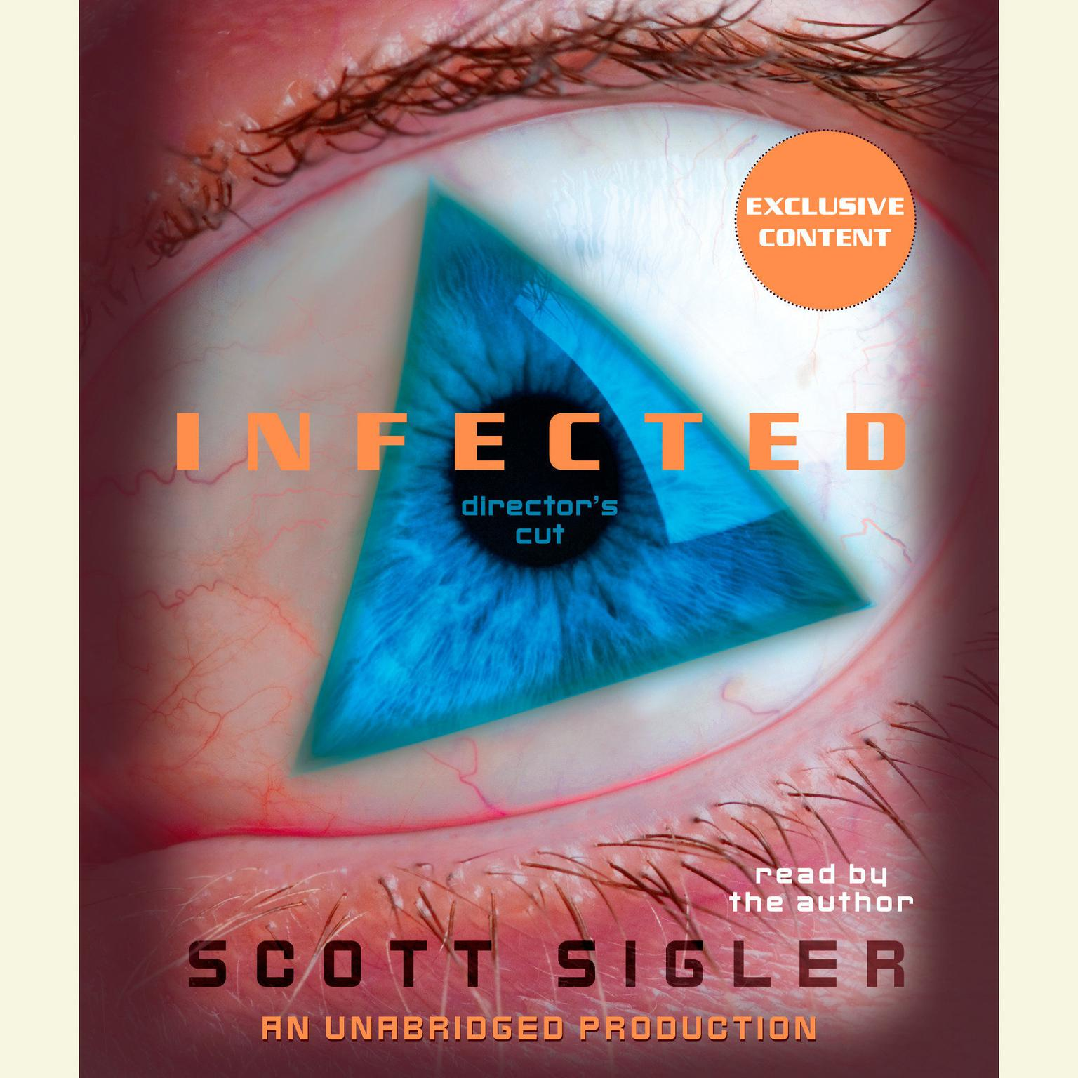 Printable Infected: A Novel Audiobook Cover Art