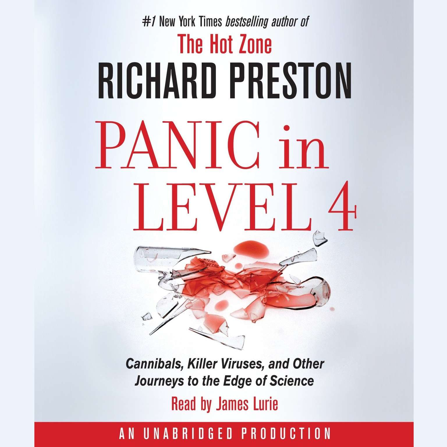 Printable Panic in Level 4: Cannibals, Killer Viruses, and Other Journeys to the Edge of Science Audiobook Cover Art