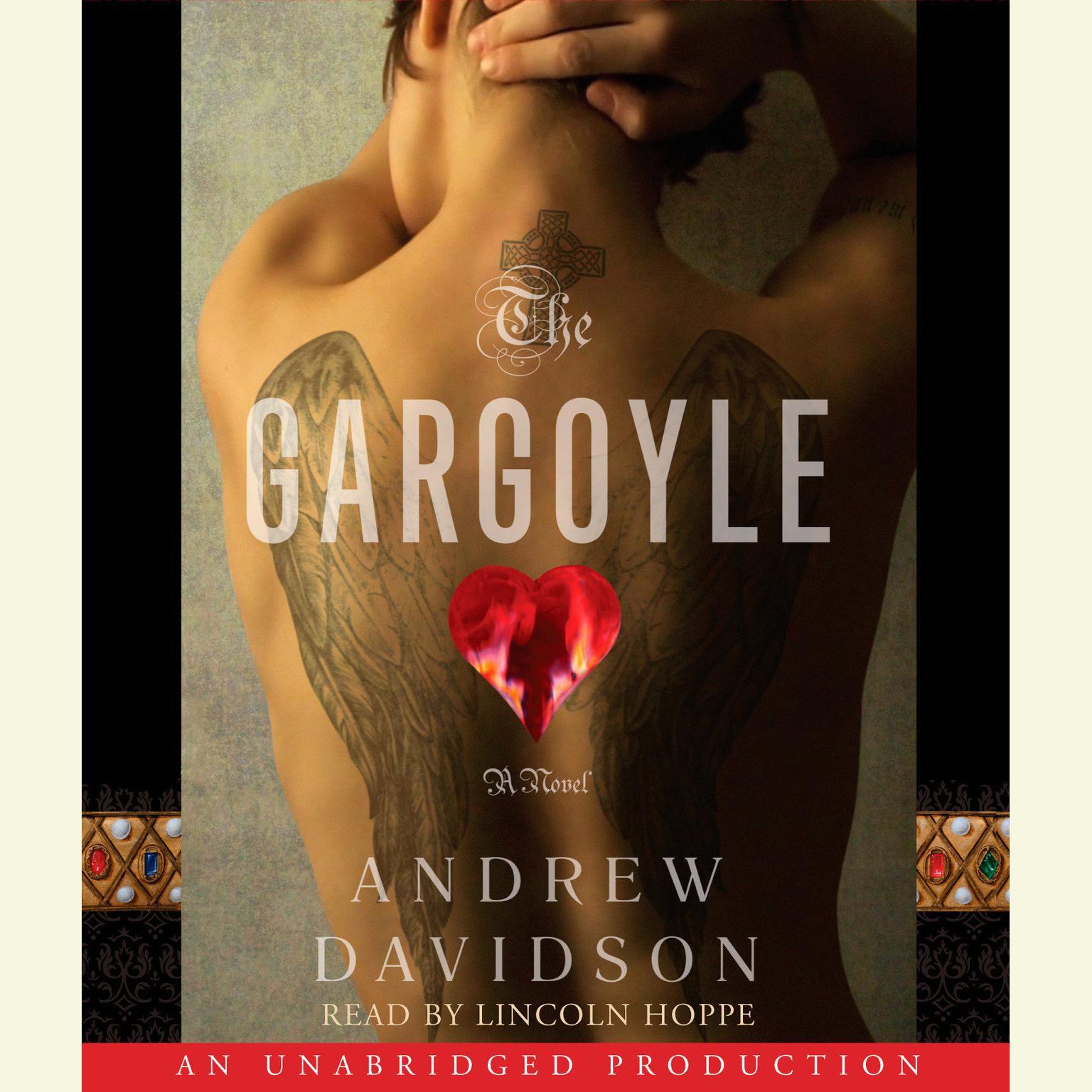 Printable The Gargoyle Audiobook Cover Art