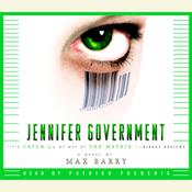 Jennifer Government Audiobook, by Max Barry