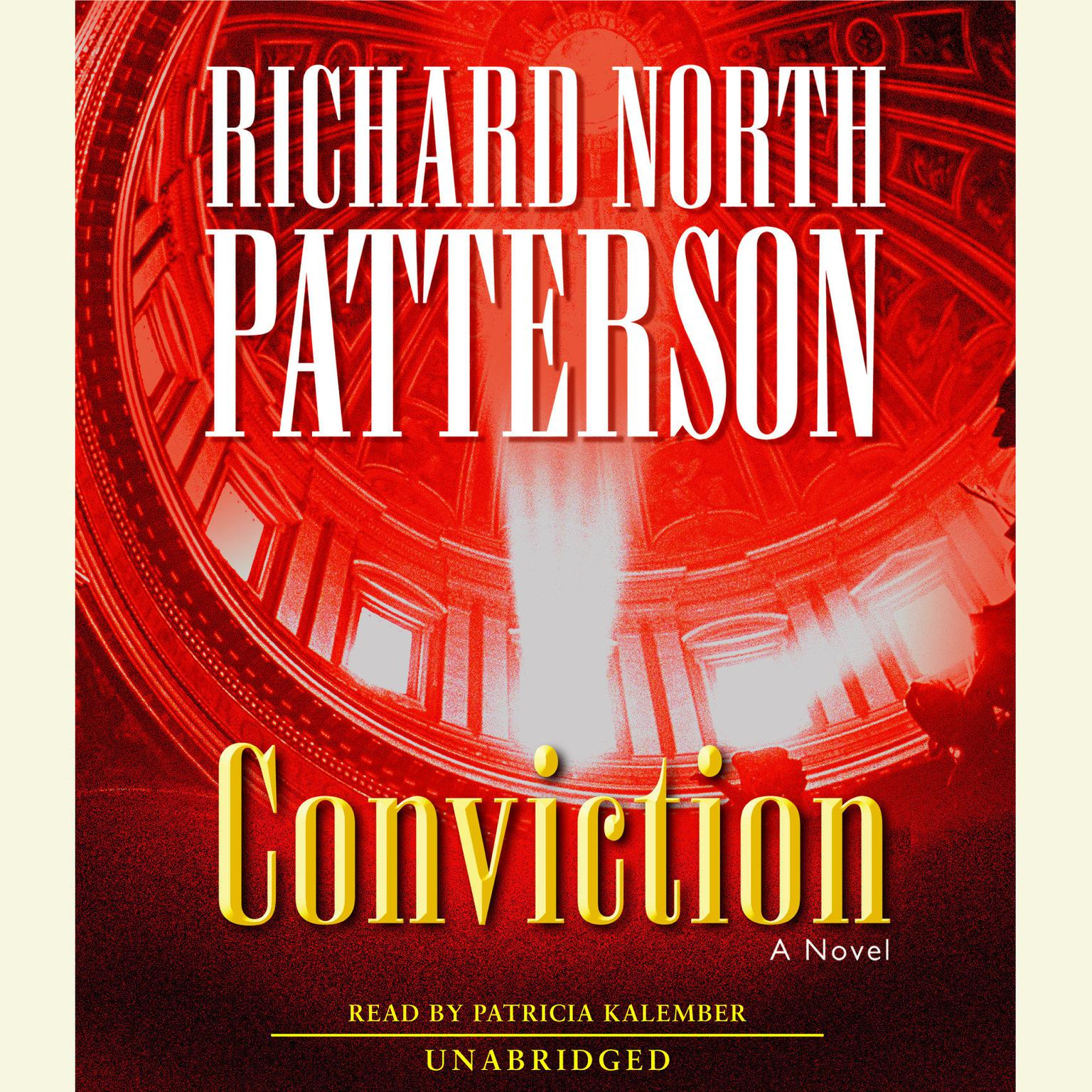 Printable Conviction: A Novel Audiobook Cover Art