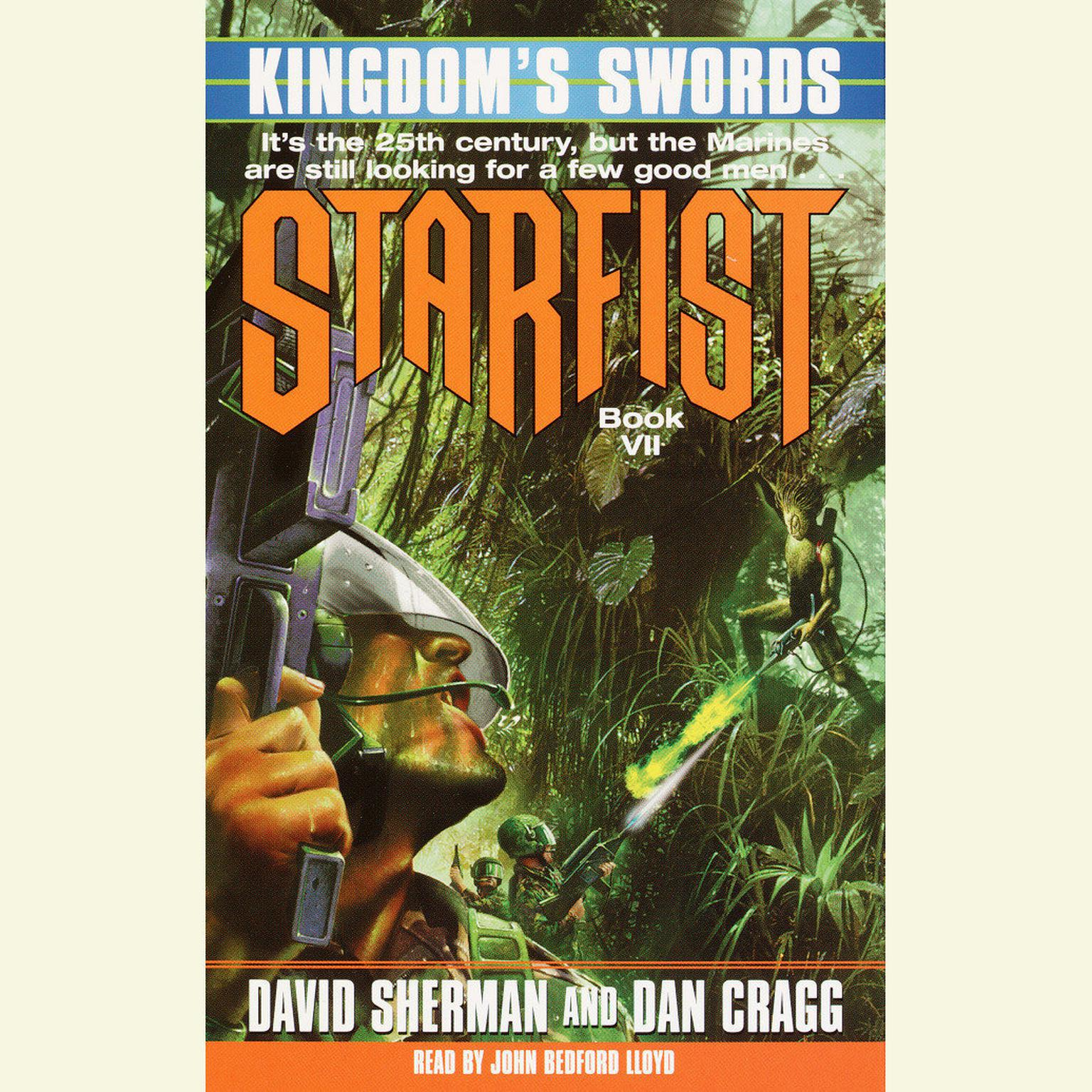 Printable Starfist: Kingdom's Swords Audiobook Cover Art