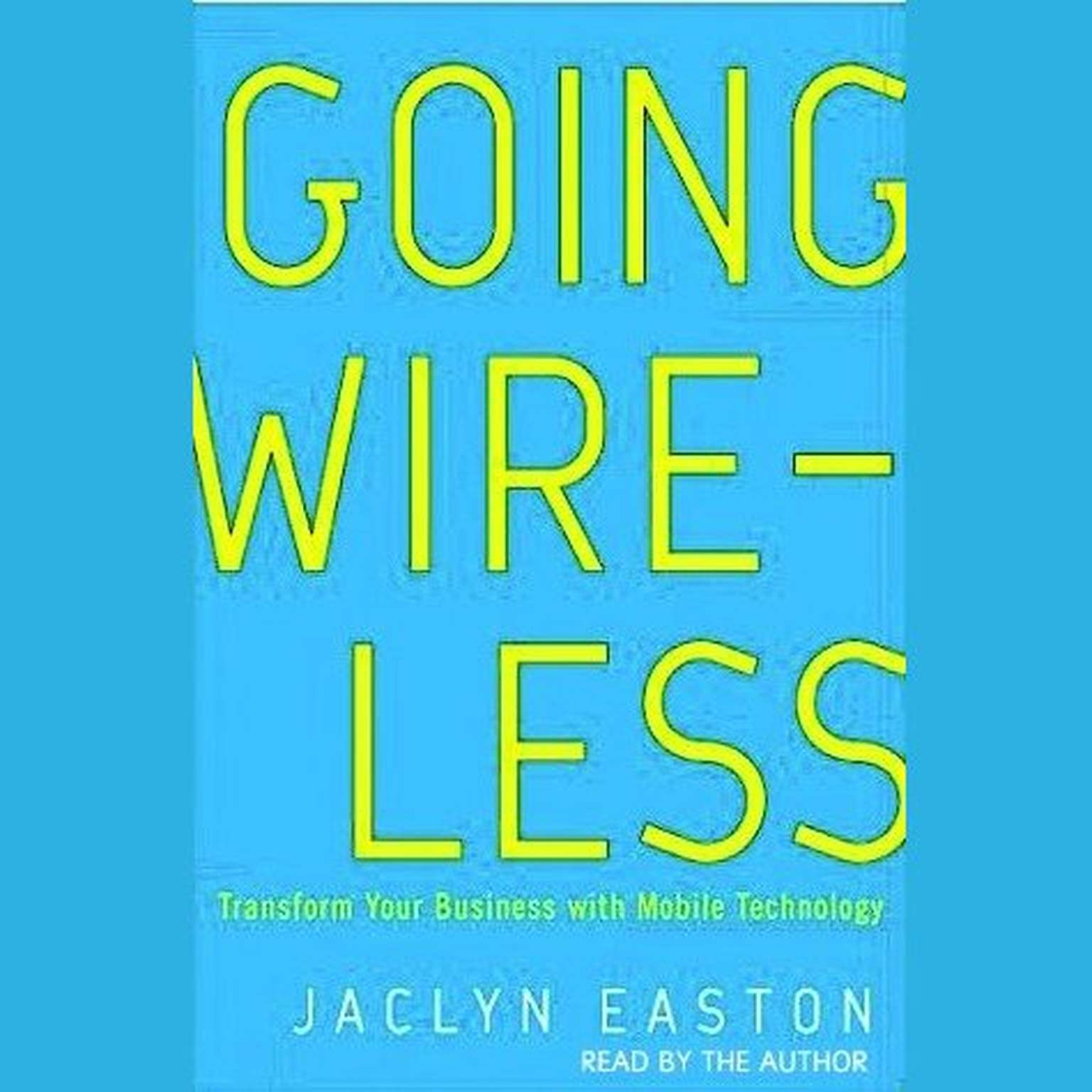 Printable Going Wireless Audiobook Cover Art