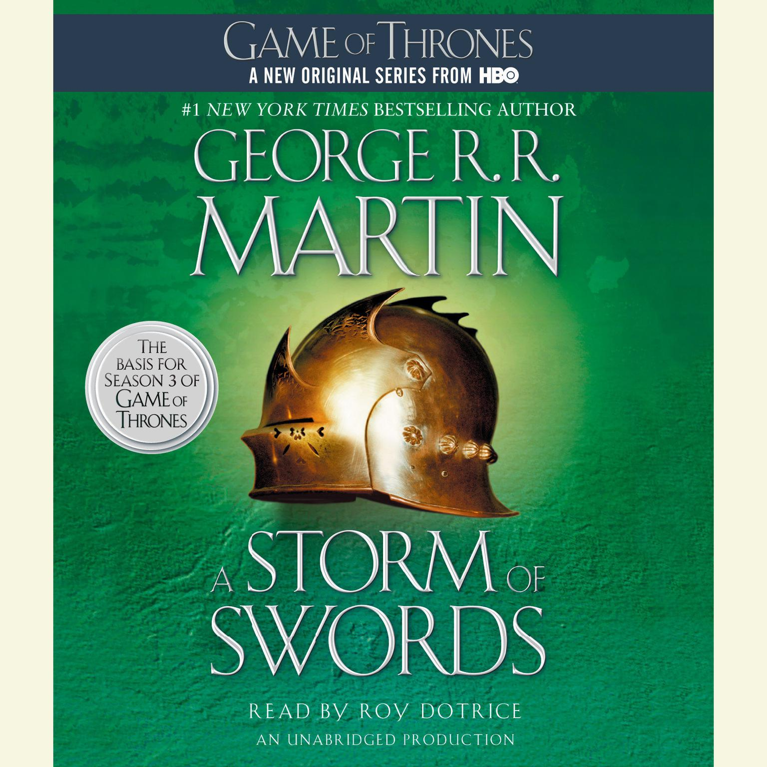 Printable A Storm of Swords: A Song of Ice and Fire: Book Three Audiobook Cover Art