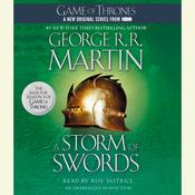 A Storm of Swords Audiobook, by George R. R. Martin