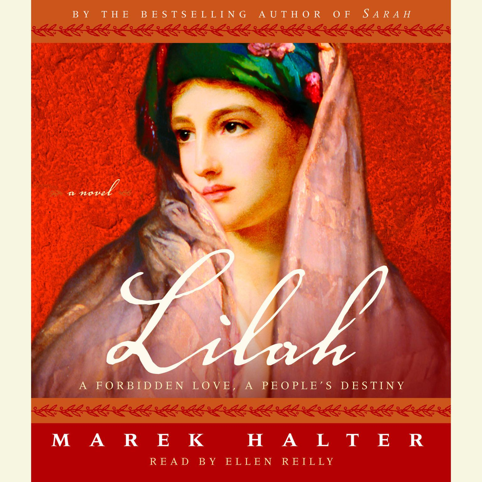 Printable Lilah Audiobook Cover Art