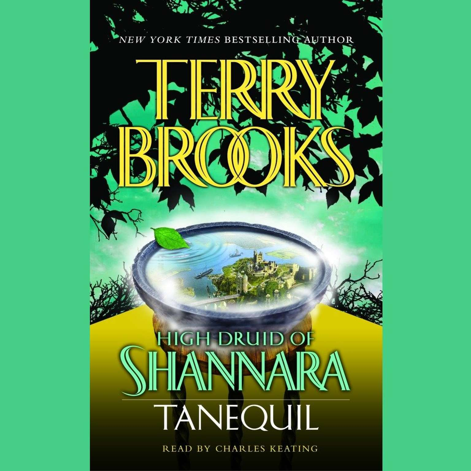 Printable High Druid of Shannara: Tanequil Audiobook Cover Art