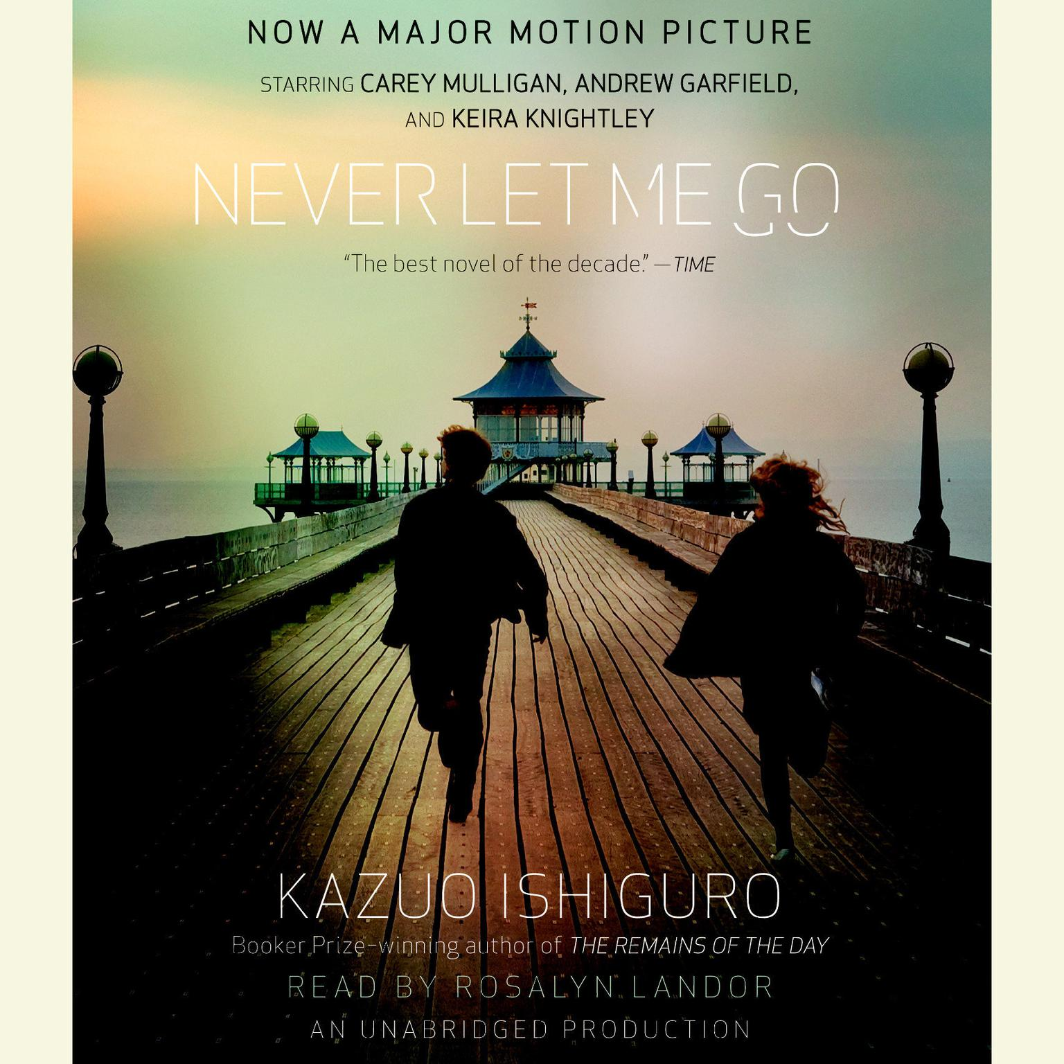 Printable Never Let Me Go Audiobook Cover Art