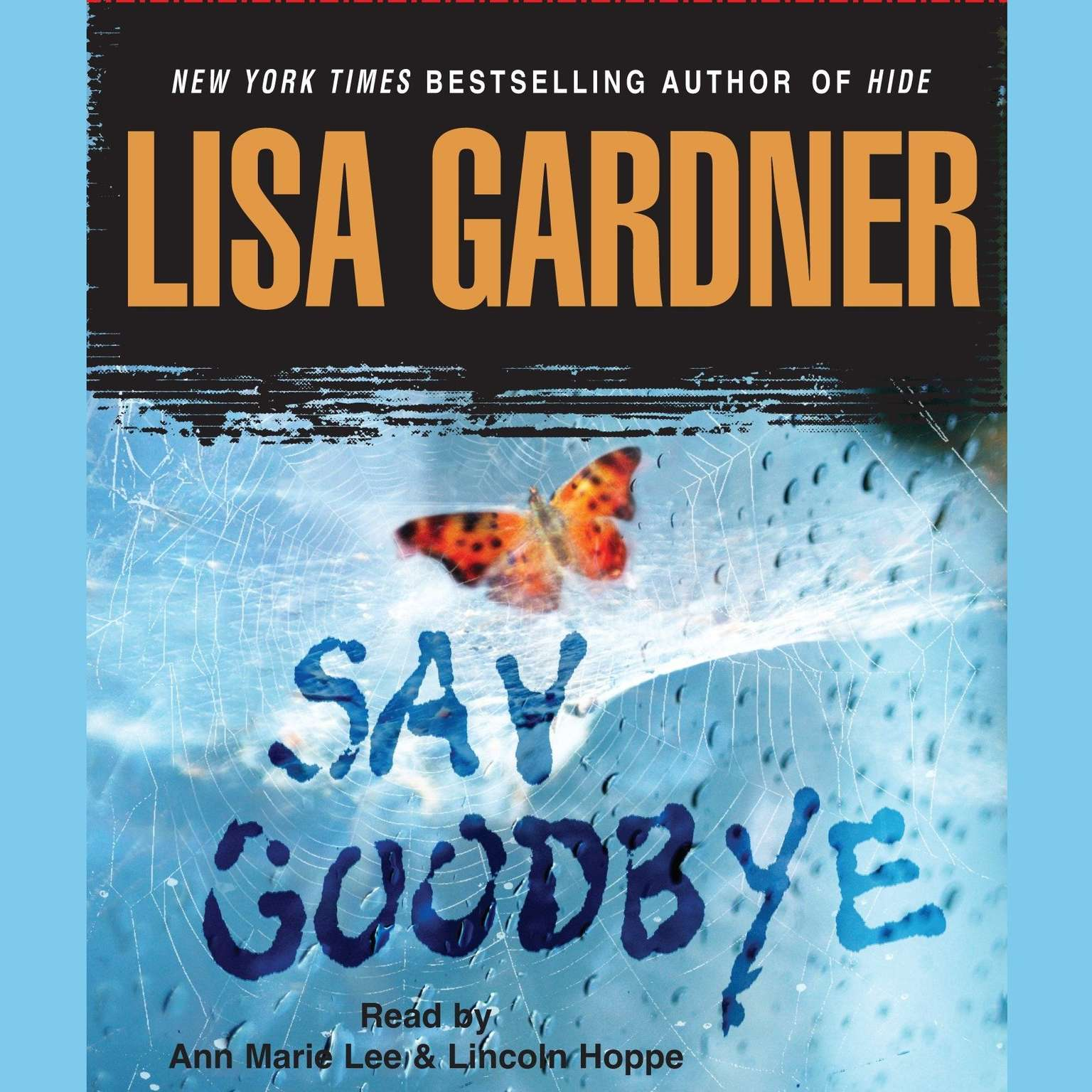 Printable Say Goodbye Audiobook Cover Art