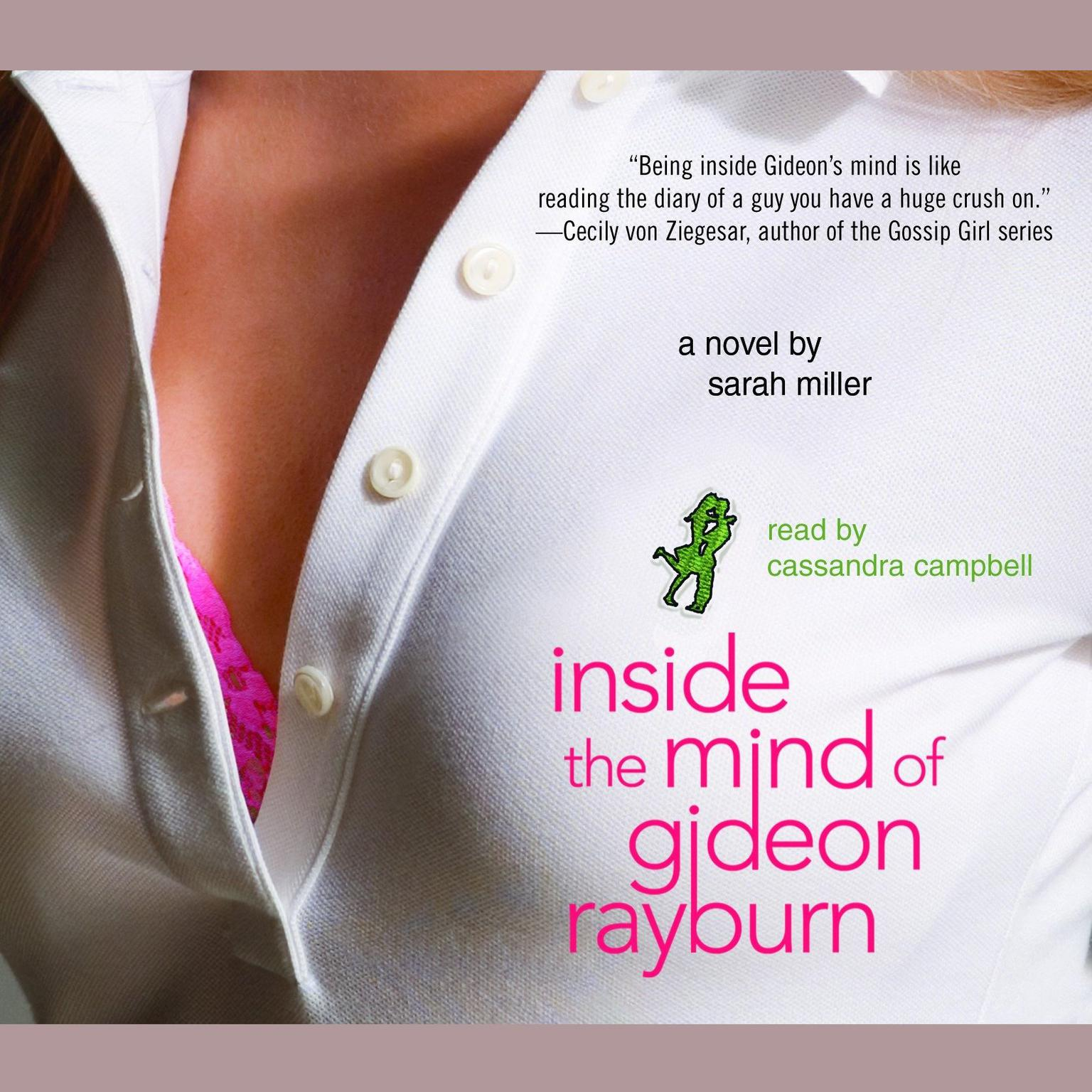 Printable Inside the Mind of Gideon Rayburn: A Novel Audiobook Cover Art