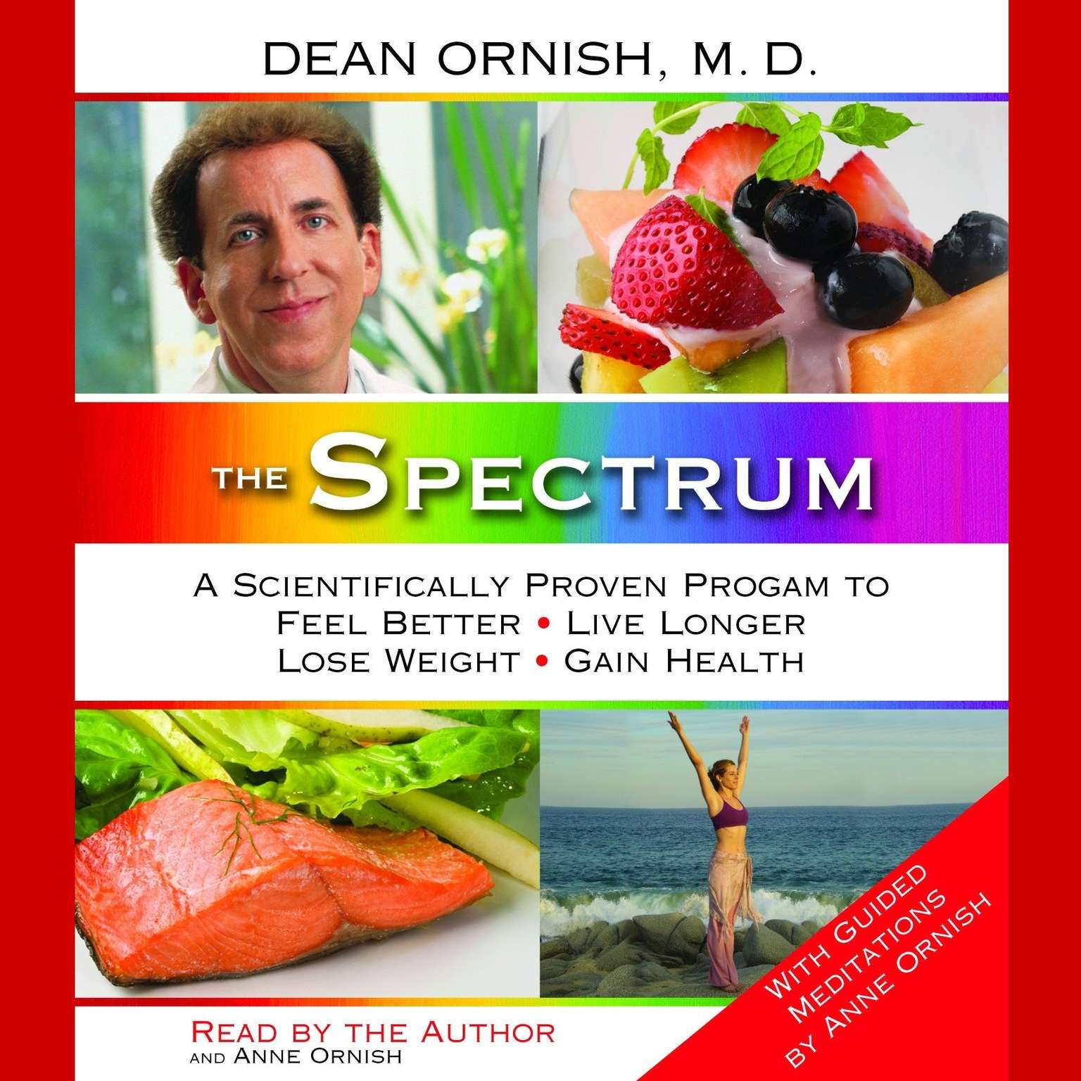 Printable The Spectrum: A Scientifically Proven Program to Feel Better, Live Longer, Lose Weight, and Gain Health Audiobook Cover Art