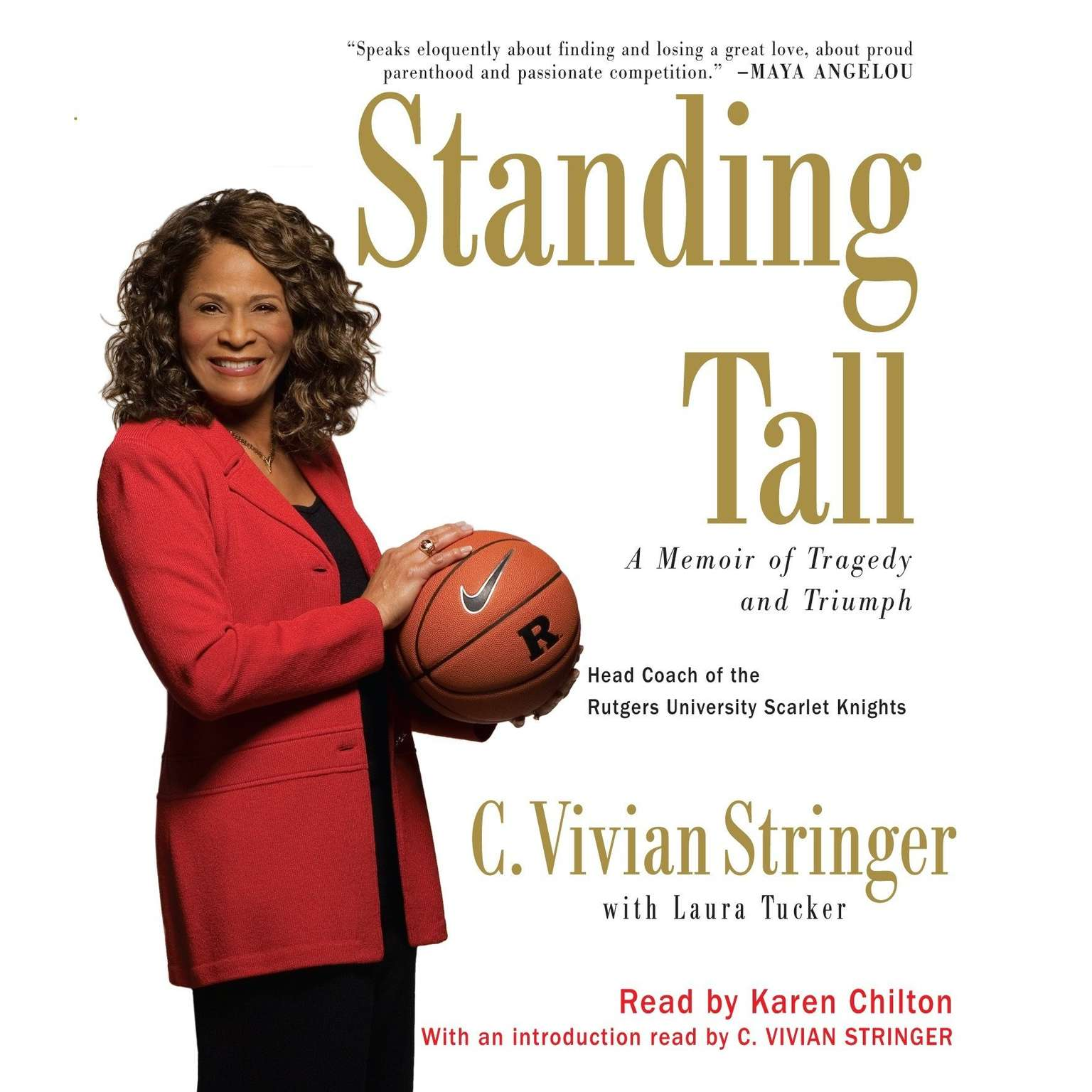 Printable Standing Tall: A Memoir of Tragedy and Triumph Audiobook Cover Art