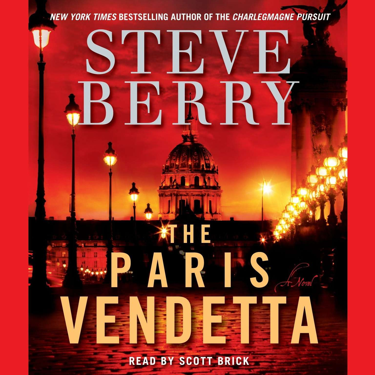Printable The Paris Vendetta: A Novel Audiobook Cover Art