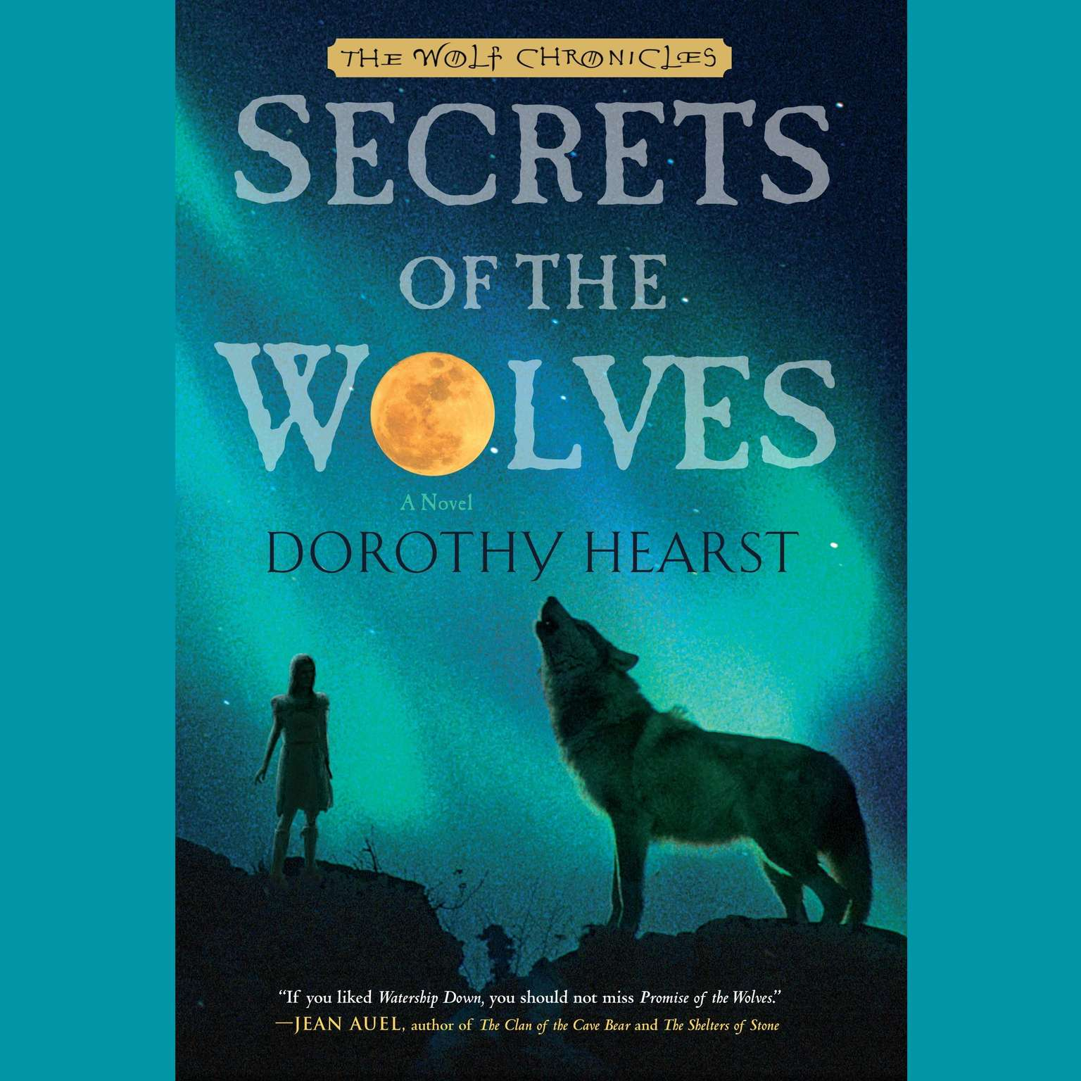 Printable Secrets of the Wolves: A Novel Audiobook Cover Art