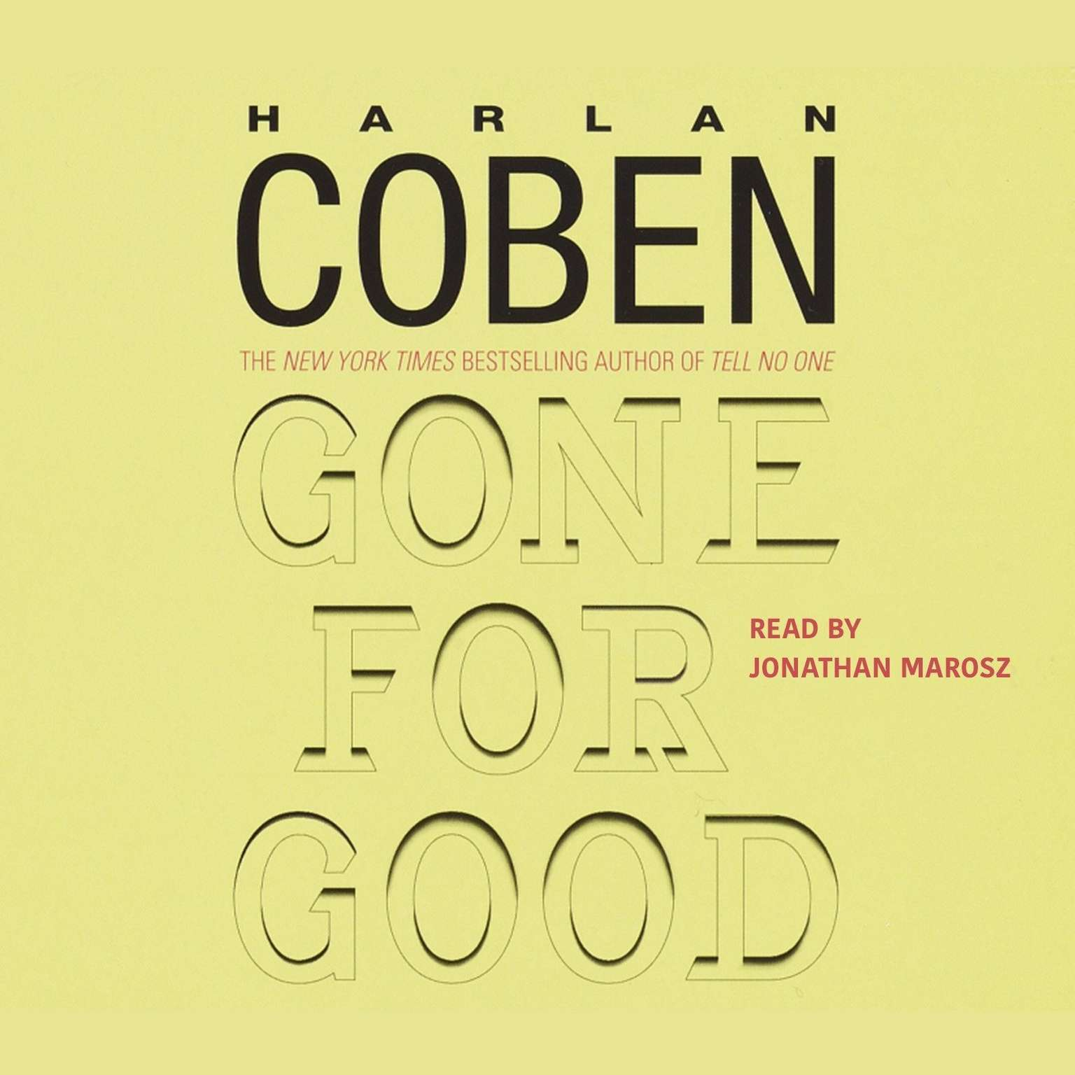 Printable Gone for Good Audiobook Cover Art