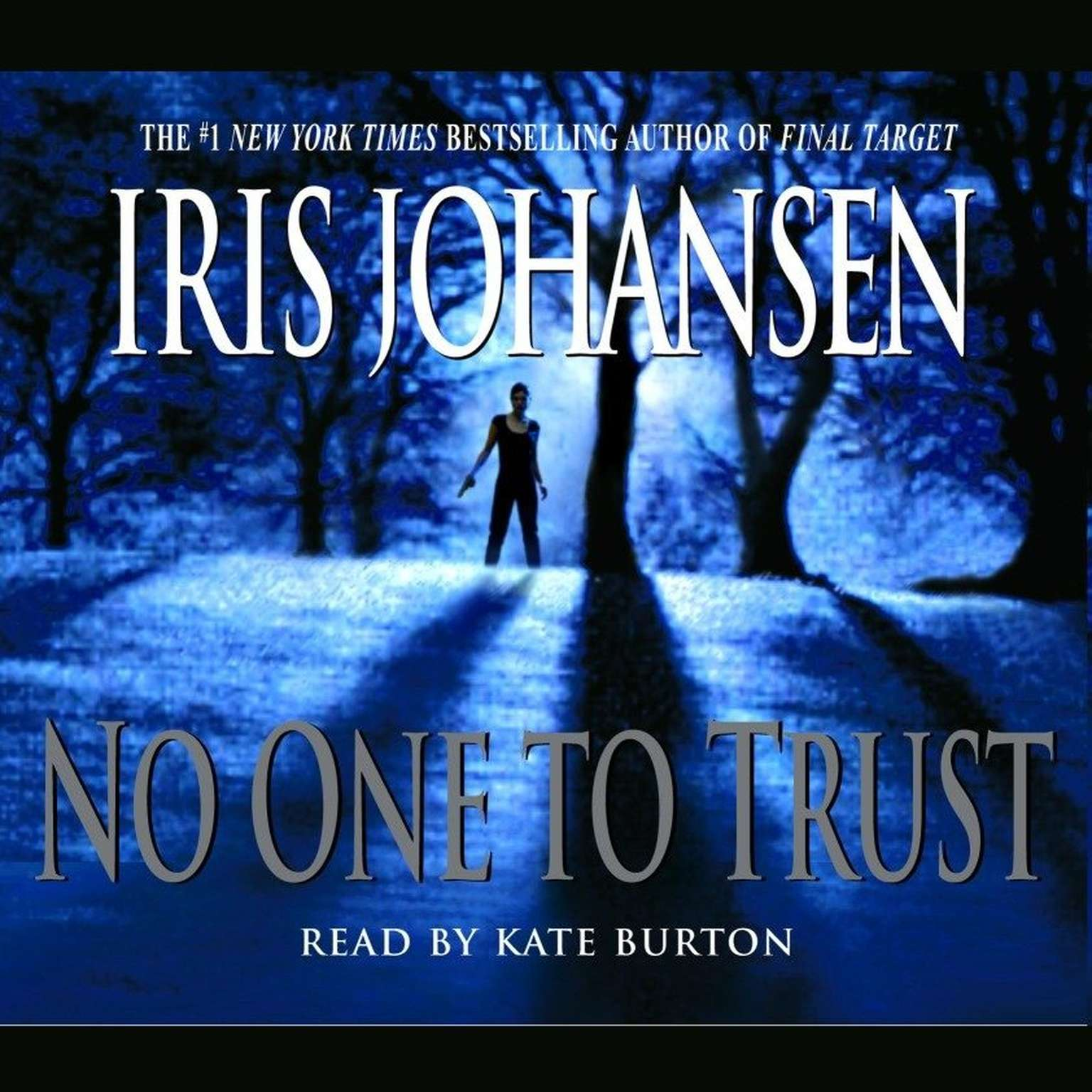 Printable No One to Trust Audiobook Cover Art