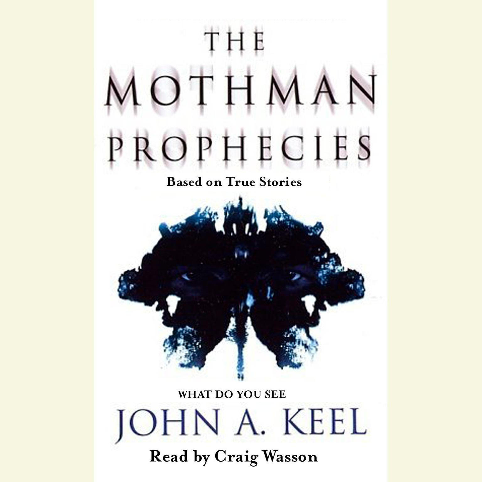 Printable The Mothman Prophecies Audiobook Cover Art