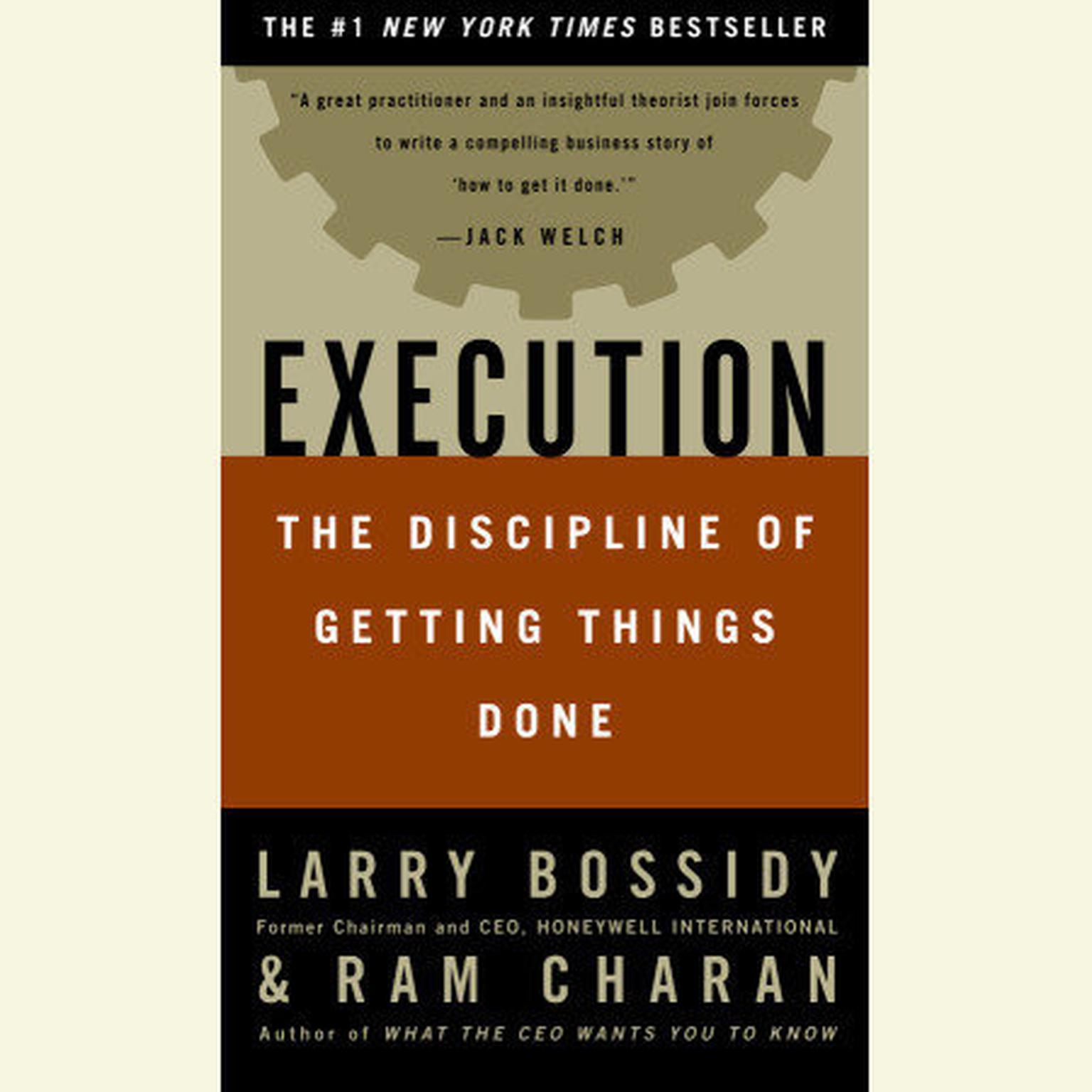 Printable Execution: The Discipline of Getting Things Done Audiobook Cover Art