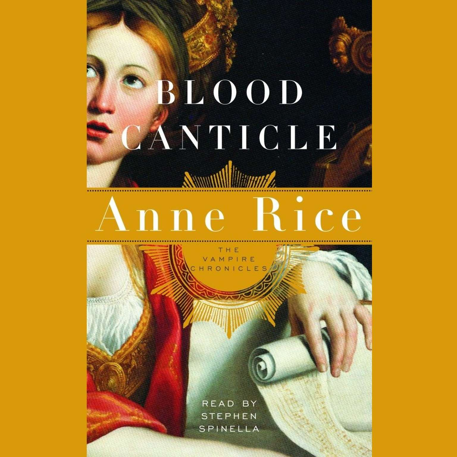 Printable Blood Canticle: The Vampire Chronicles Audiobook Cover Art