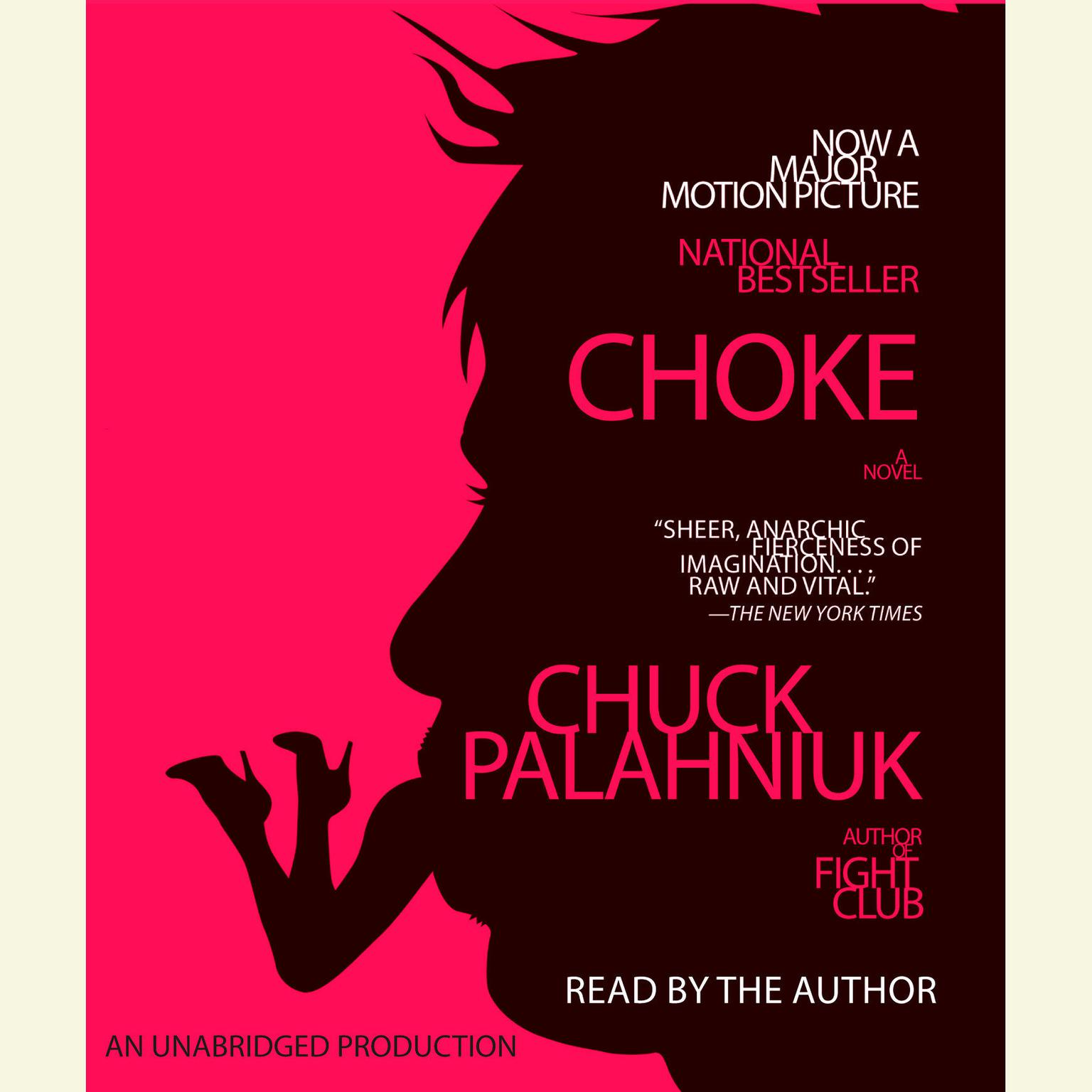 Printable Choke Audiobook Cover Art
