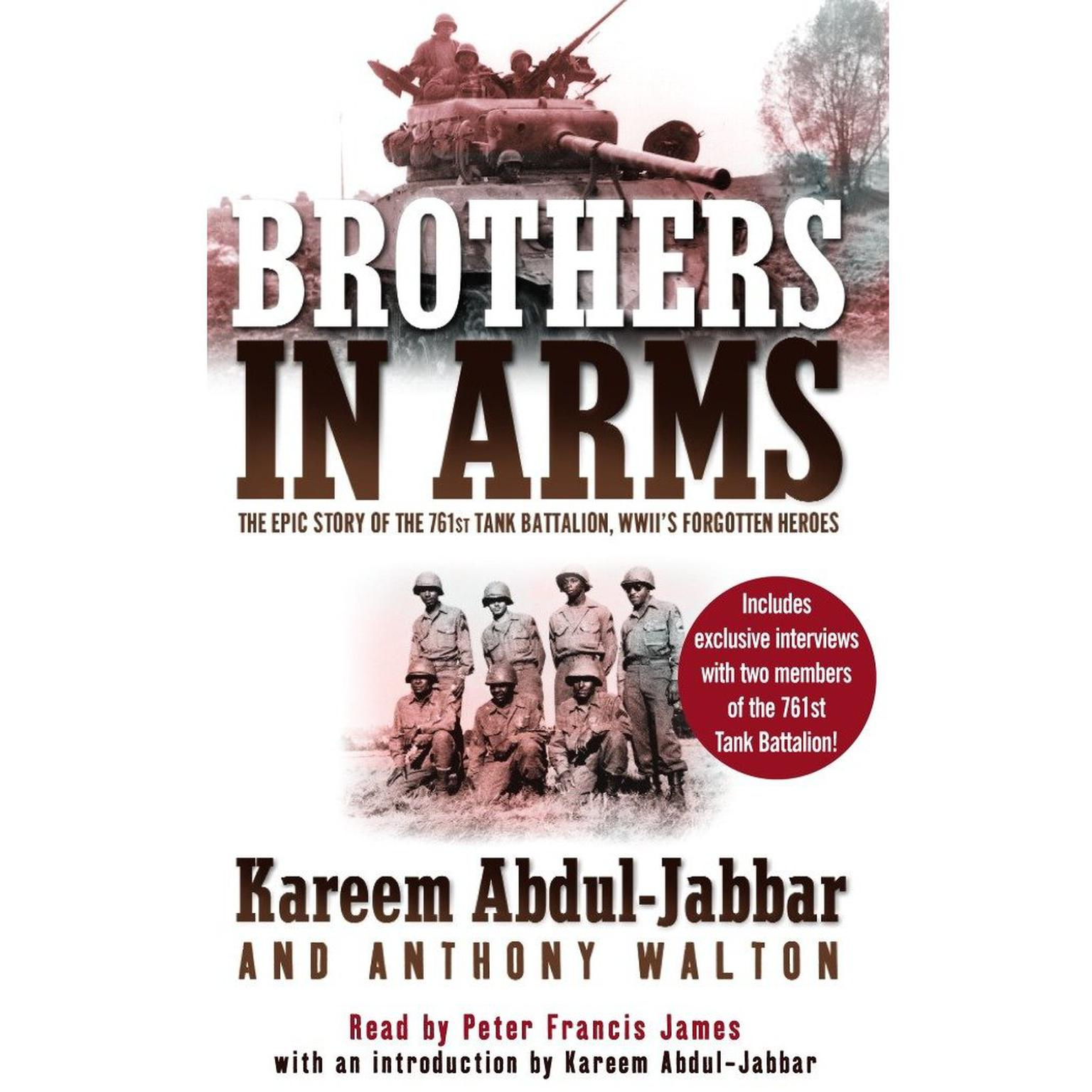 Printable Brothers in Arms Audiobook Cover Art