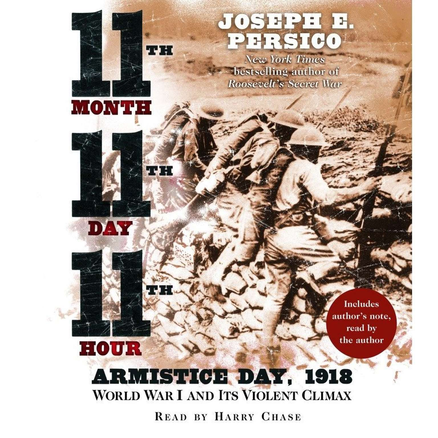 Printable Eleventh Month, Eleventh Day, Eleventh Hour: Armistice Day, 1918 Audiobook Cover Art