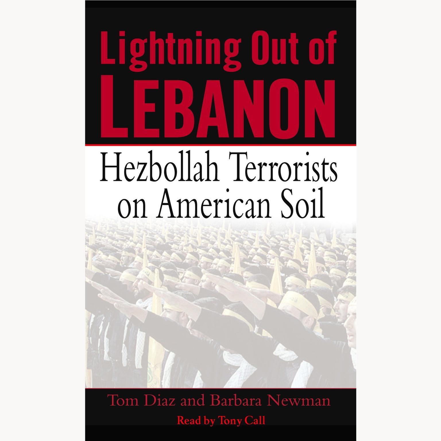 Printable Lightning Out of Lebanon: Hezbollah Terrorists on American Soil Audiobook Cover Art