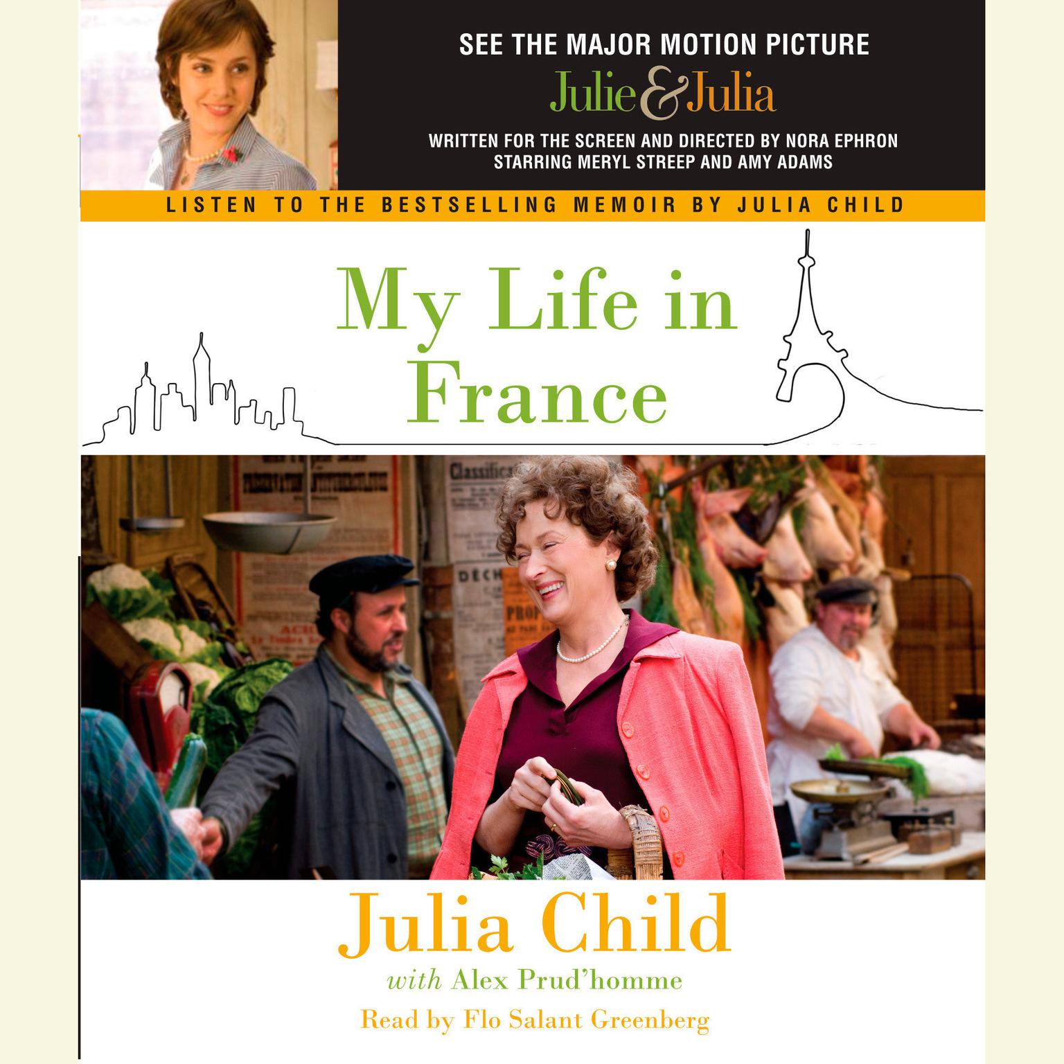 Printable My Life in France Audiobook Cover Art