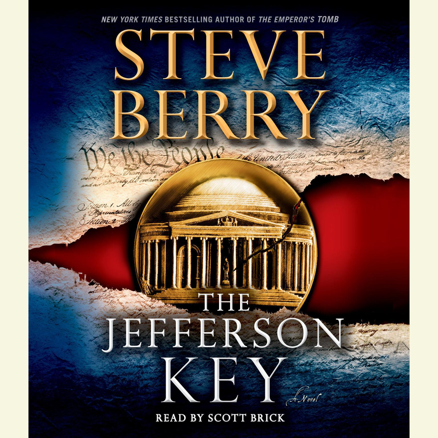 Printable The Jefferson Key: A Novel Audiobook Cover Art