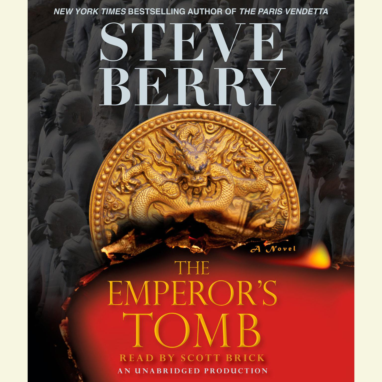 Printable The Emperor's Tomb Audiobook Cover Art