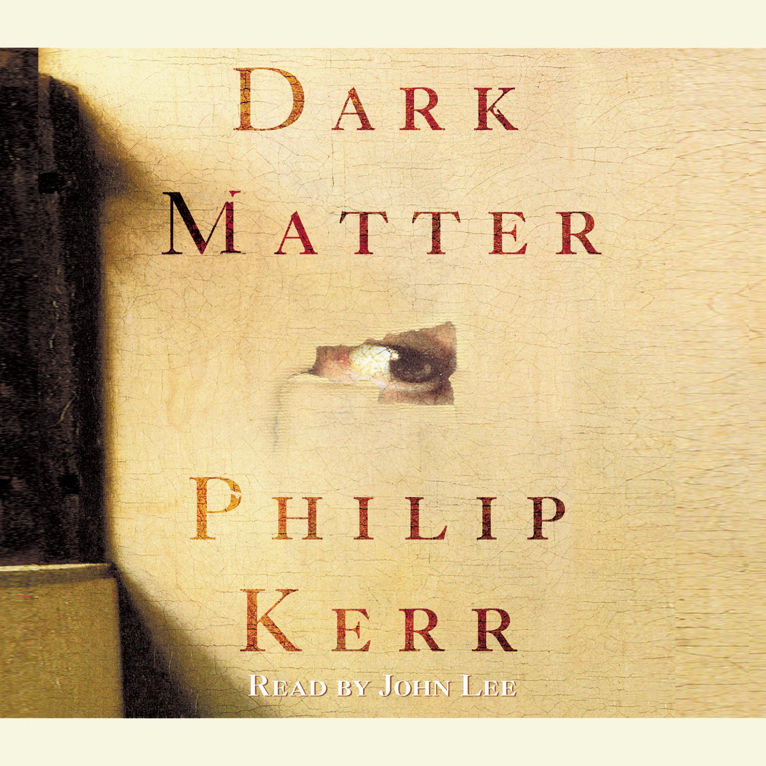 Printable Dark Matter: A Novel Audiobook Cover Art