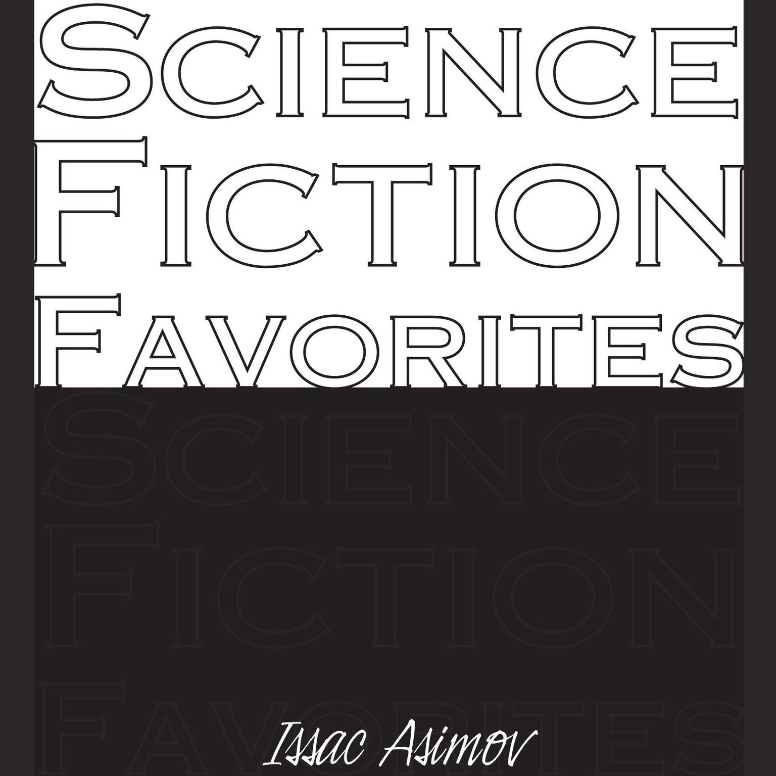 Printable Science Fiction Favorites Audiobook Cover Art