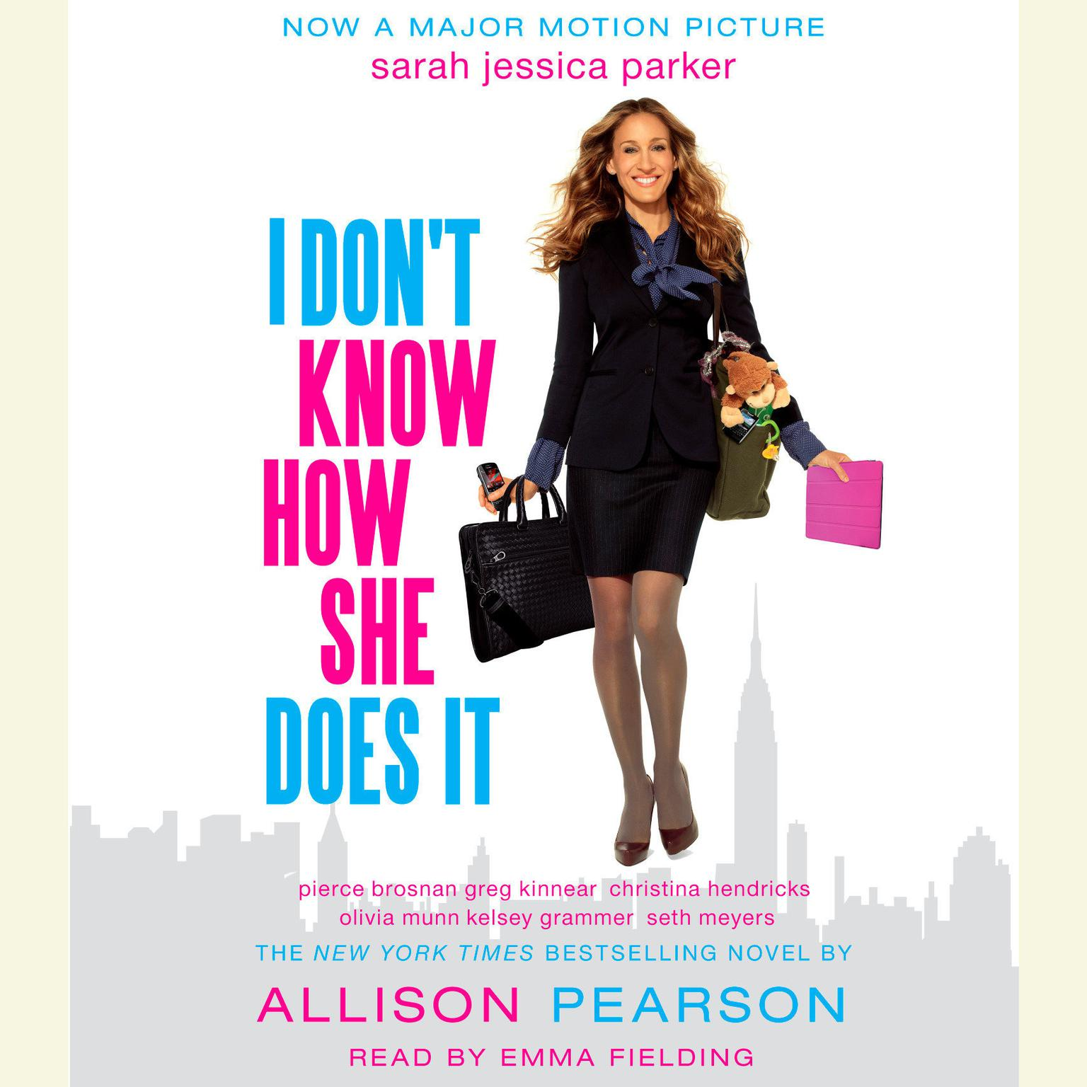 Printable I Don't Know How She Does It: The Life of Kate Reddy, Working Mother Audiobook Cover Art