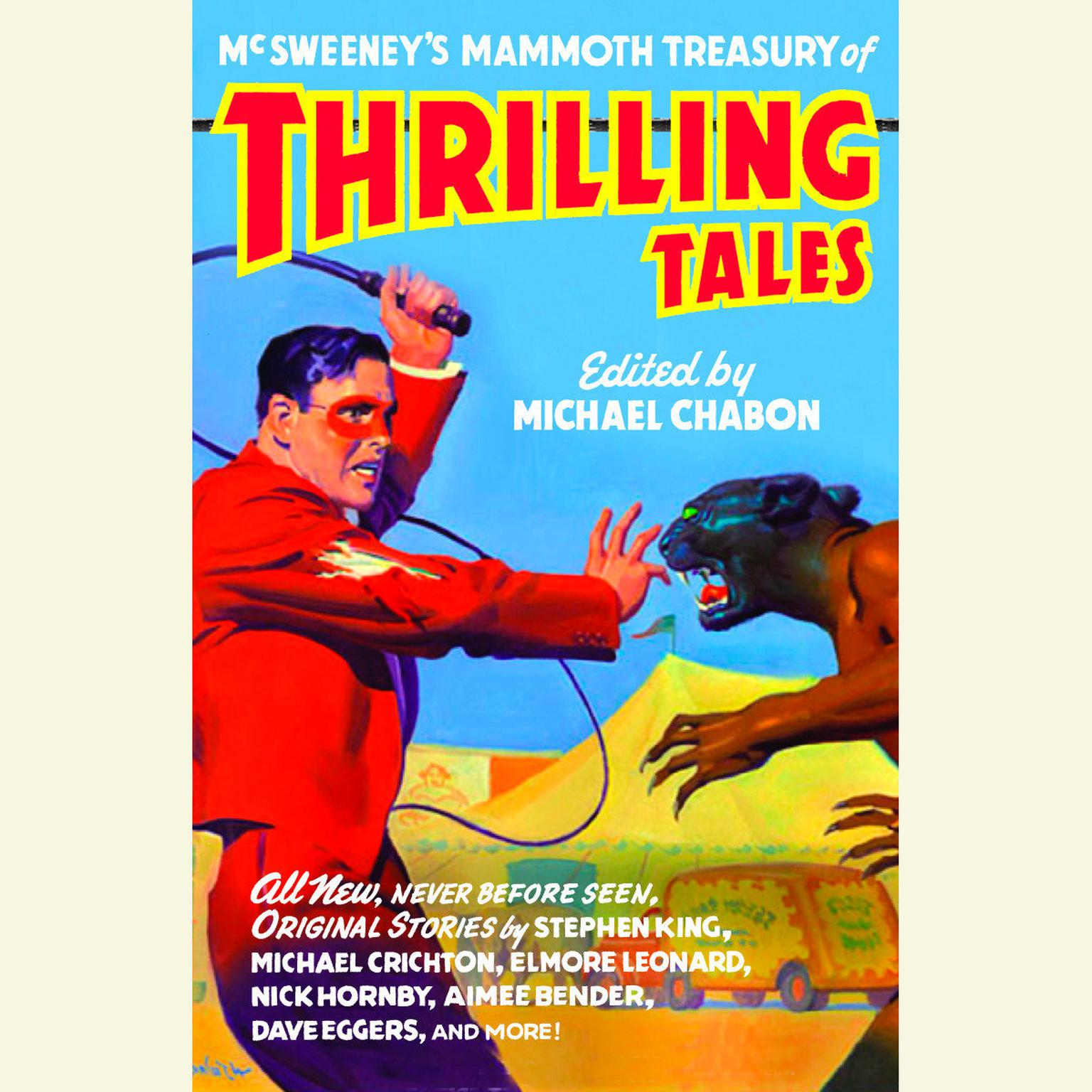 Printable McSweeney's Mammoth Treasury of Thrilling Tales Audiobook Cover Art
