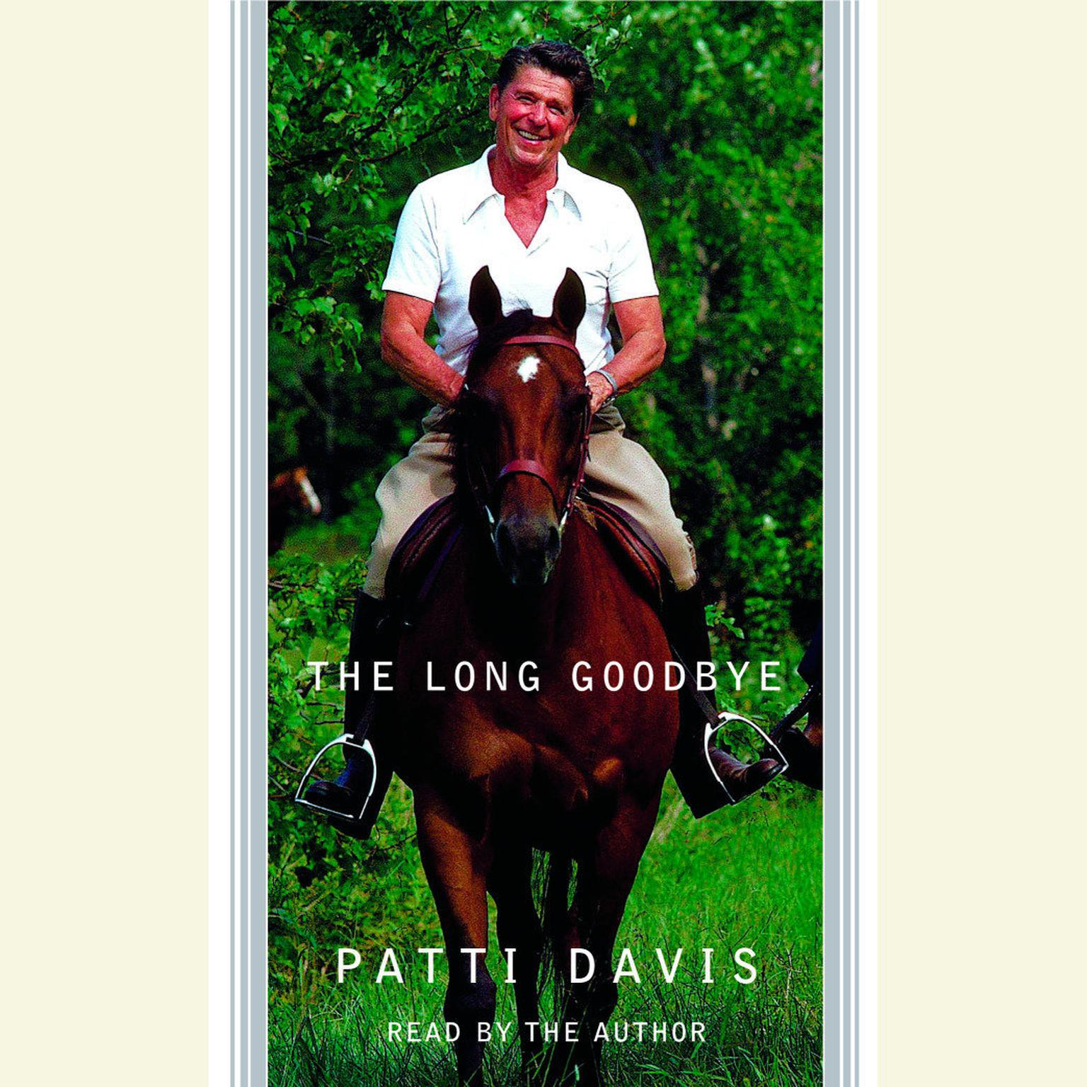 Printable The Long Goodbye Audiobook Cover Art